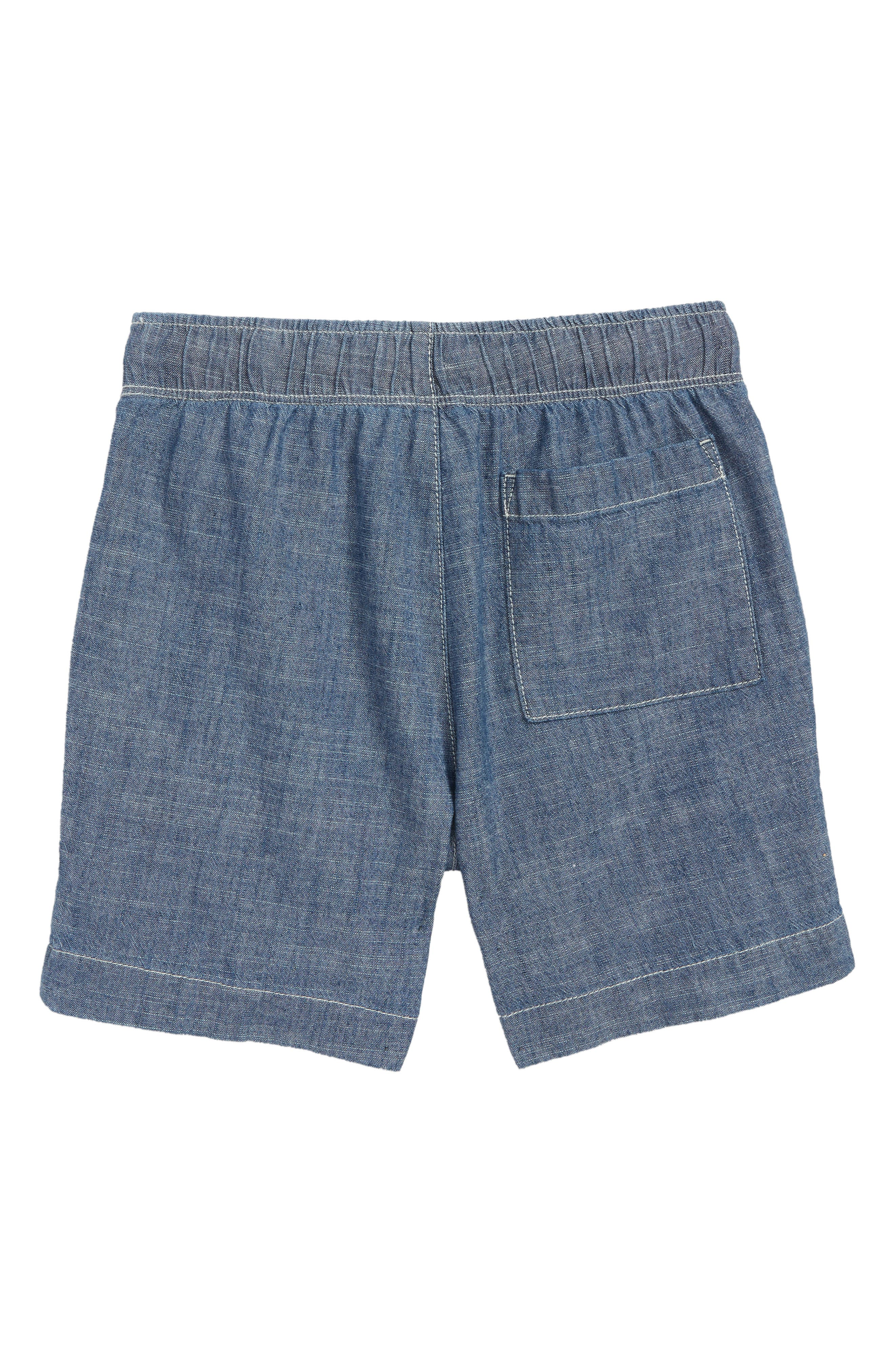 CREWCUTS BY J.CREW,                             Dock Chambray Shorts,                             Alternate thumbnail 2, color,                             400