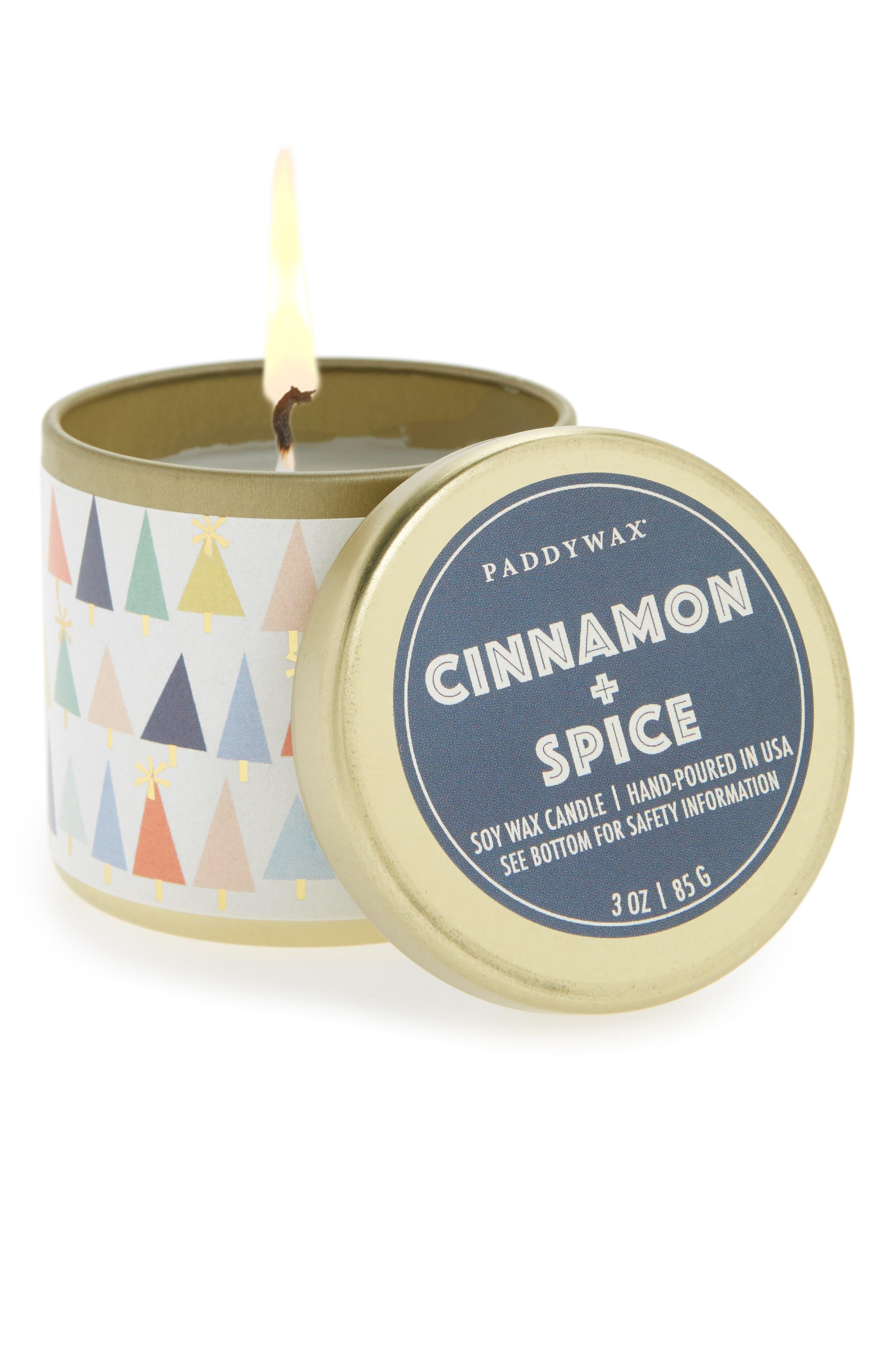Kaleidoscope Tin Candle,                         Main,                         color,