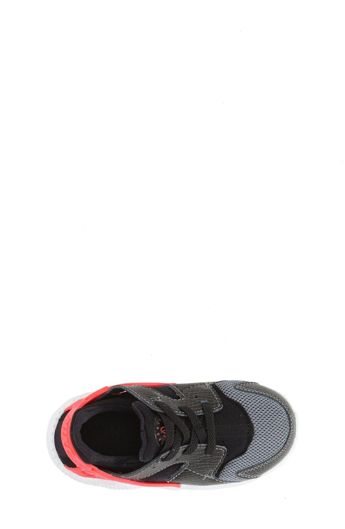 'Huarache Run' Sneaker,                             Alternate thumbnail 5, color,