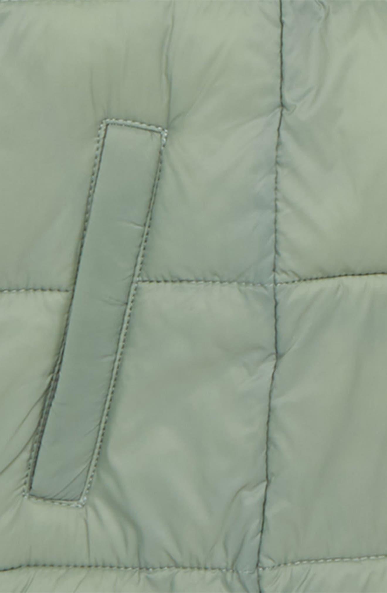 Packable Puffer Jacket,                             Alternate thumbnail 2, color,                             GREEN SEA SPRAY