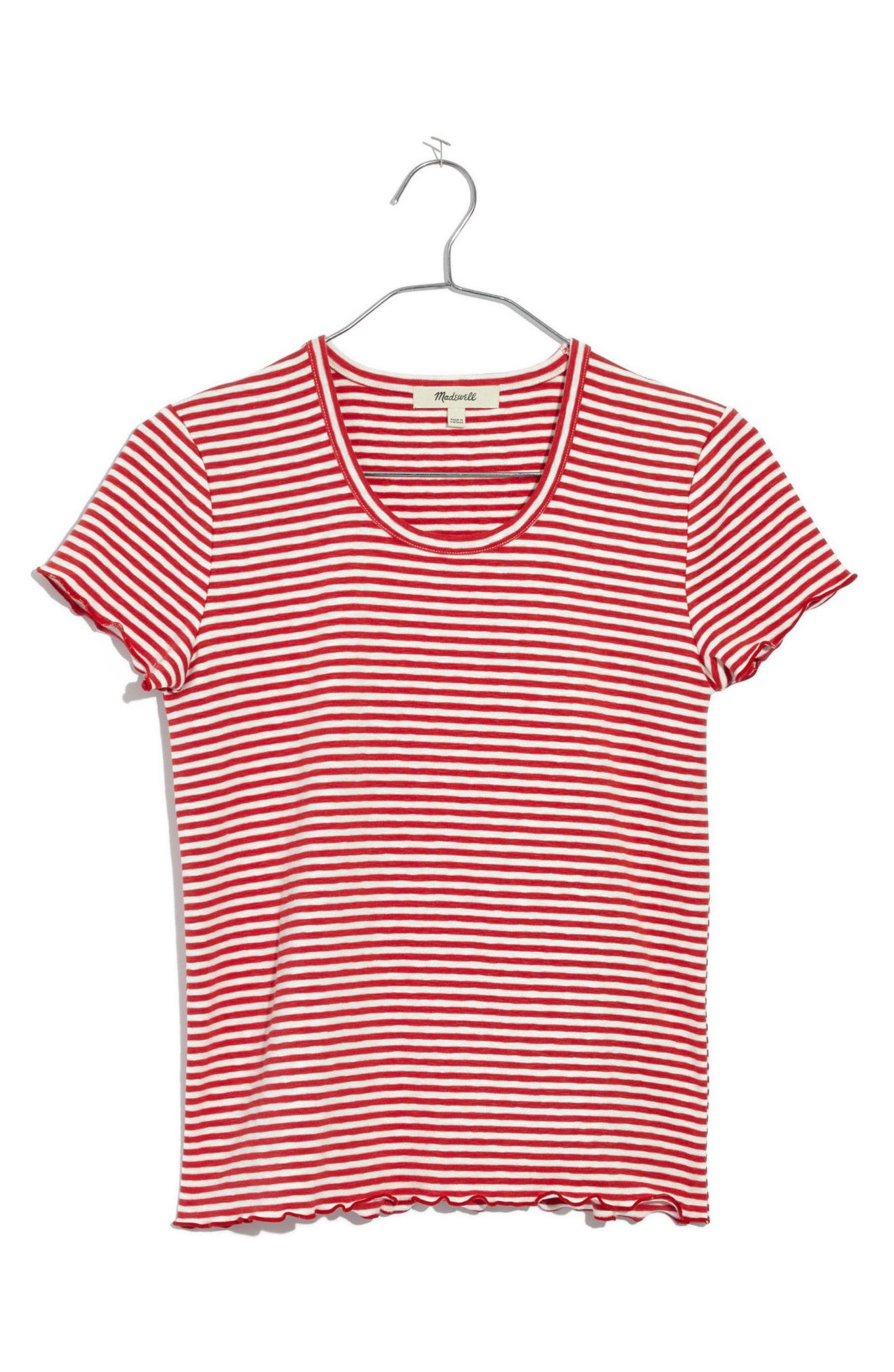 Stripe Baby Tee,                             Main thumbnail 2, color,