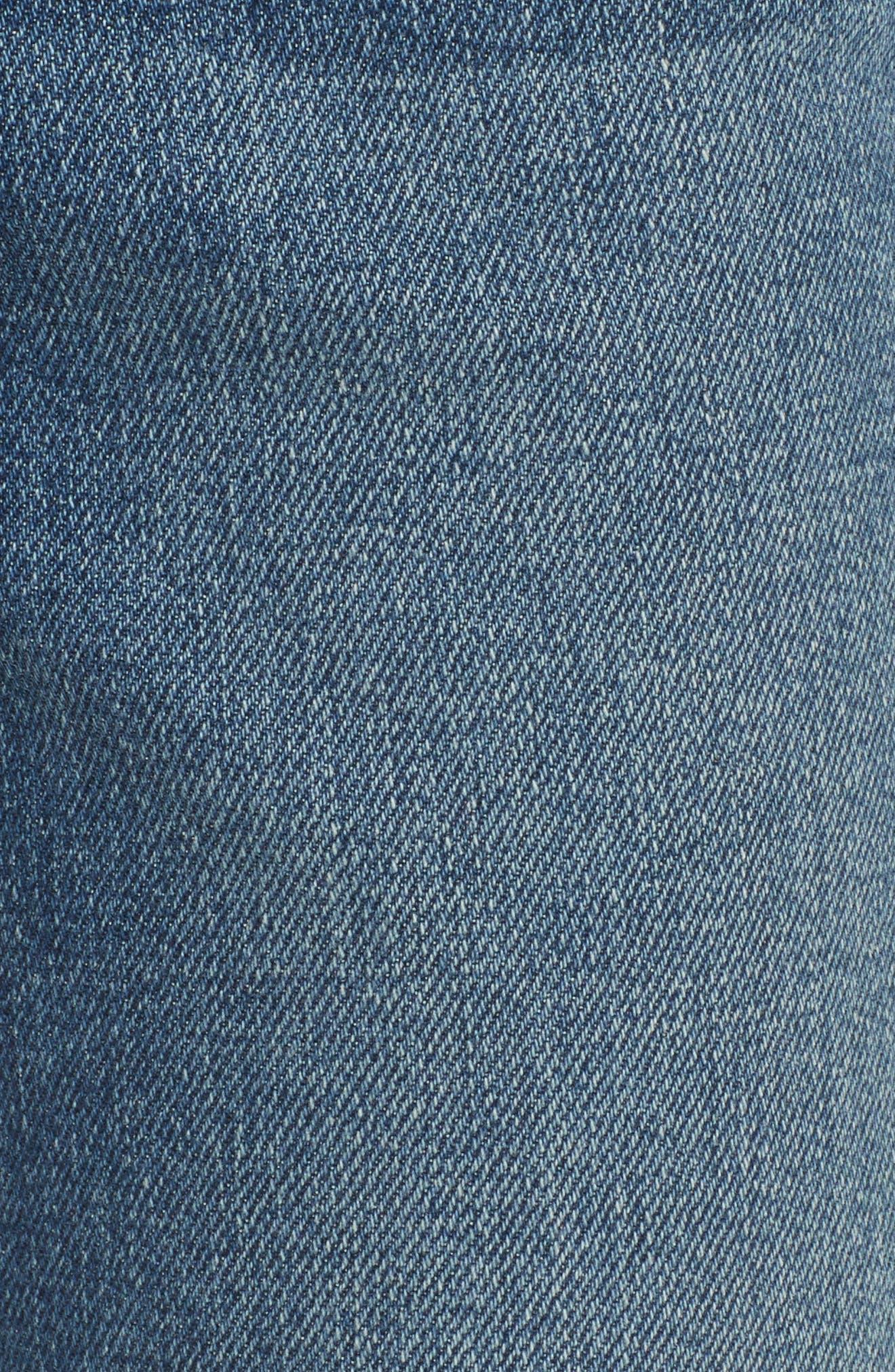 Crop Mini Boot Jeans,                             Alternate thumbnail 5, color,