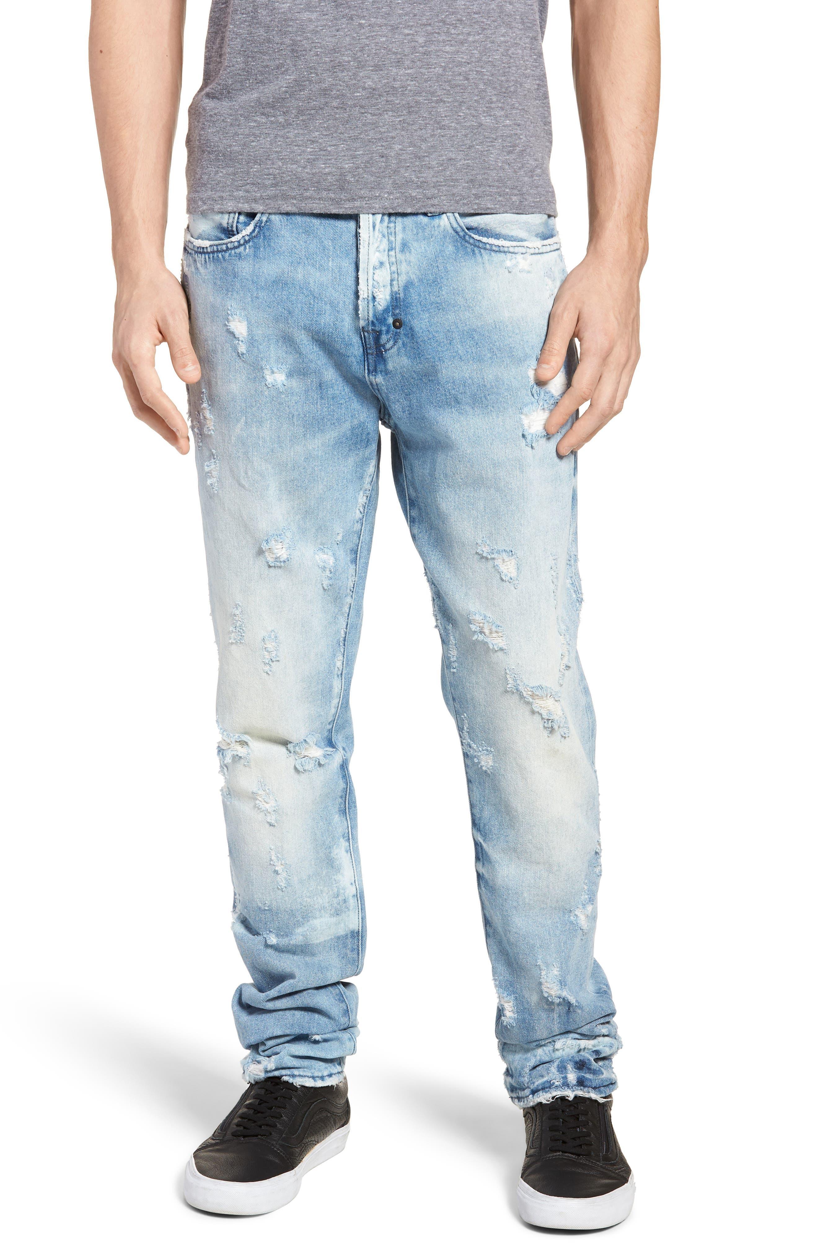 Le Sabre Slim Fit Jeans,                             Main thumbnail 1, color,                             454