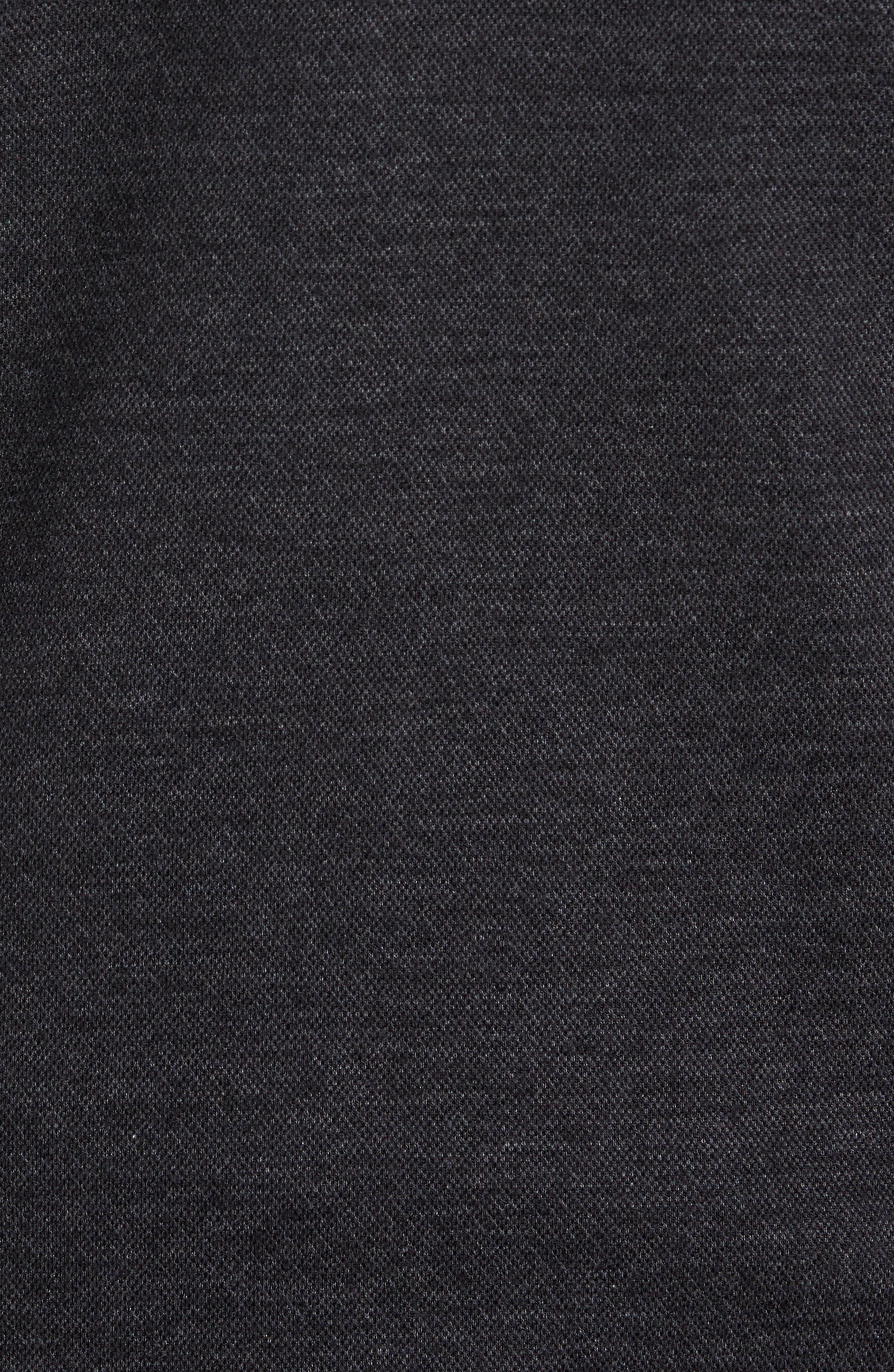 Salea Check Wool Blend Bomber Jacket,                             Alternate thumbnail 6, color,                             001
