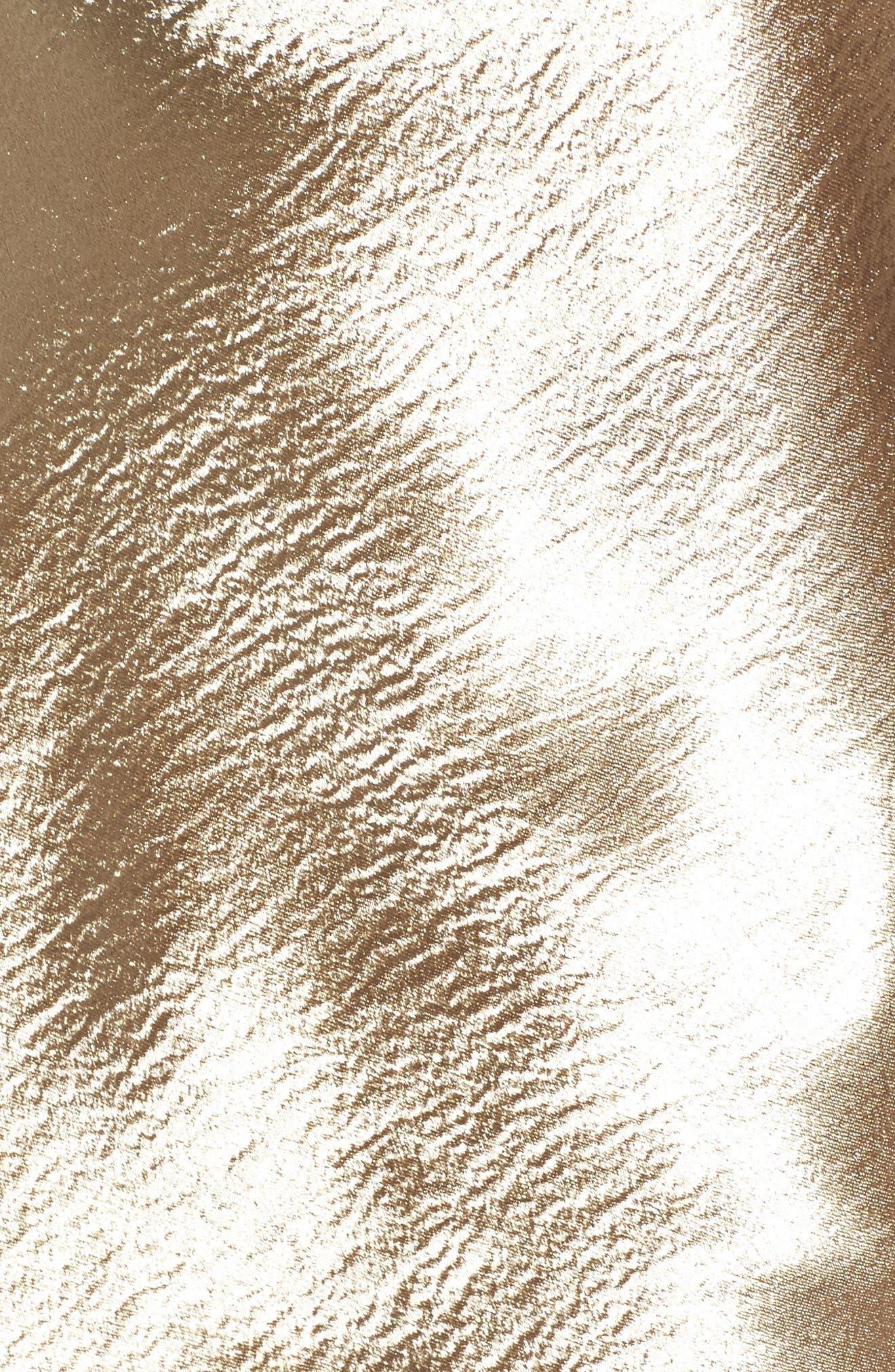 Metallic Cowl Neck Top,                             Alternate thumbnail 5, color,                             710