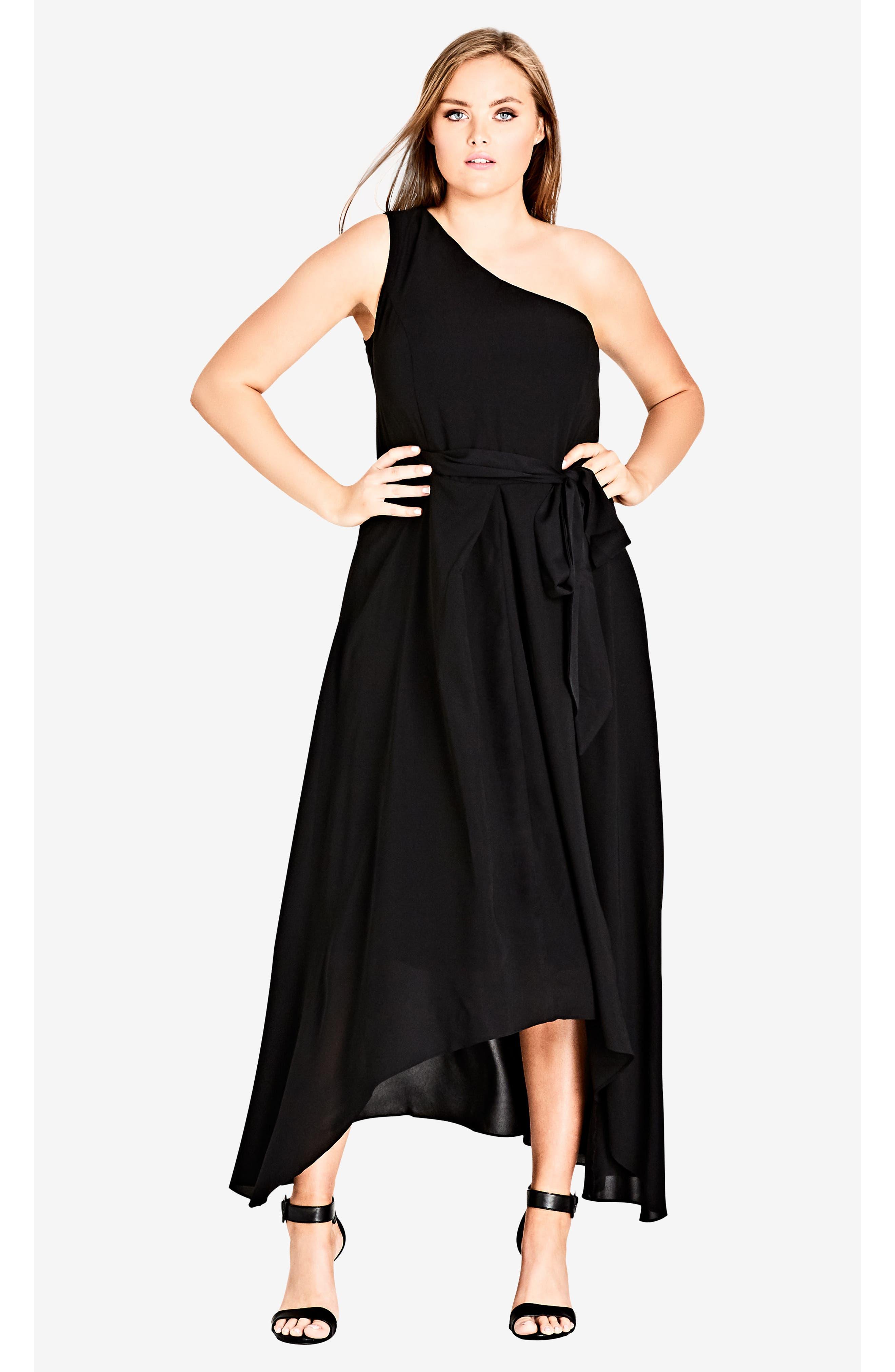 One Love Maxi Dress,                             Alternate thumbnail 4, color,                             BLACK