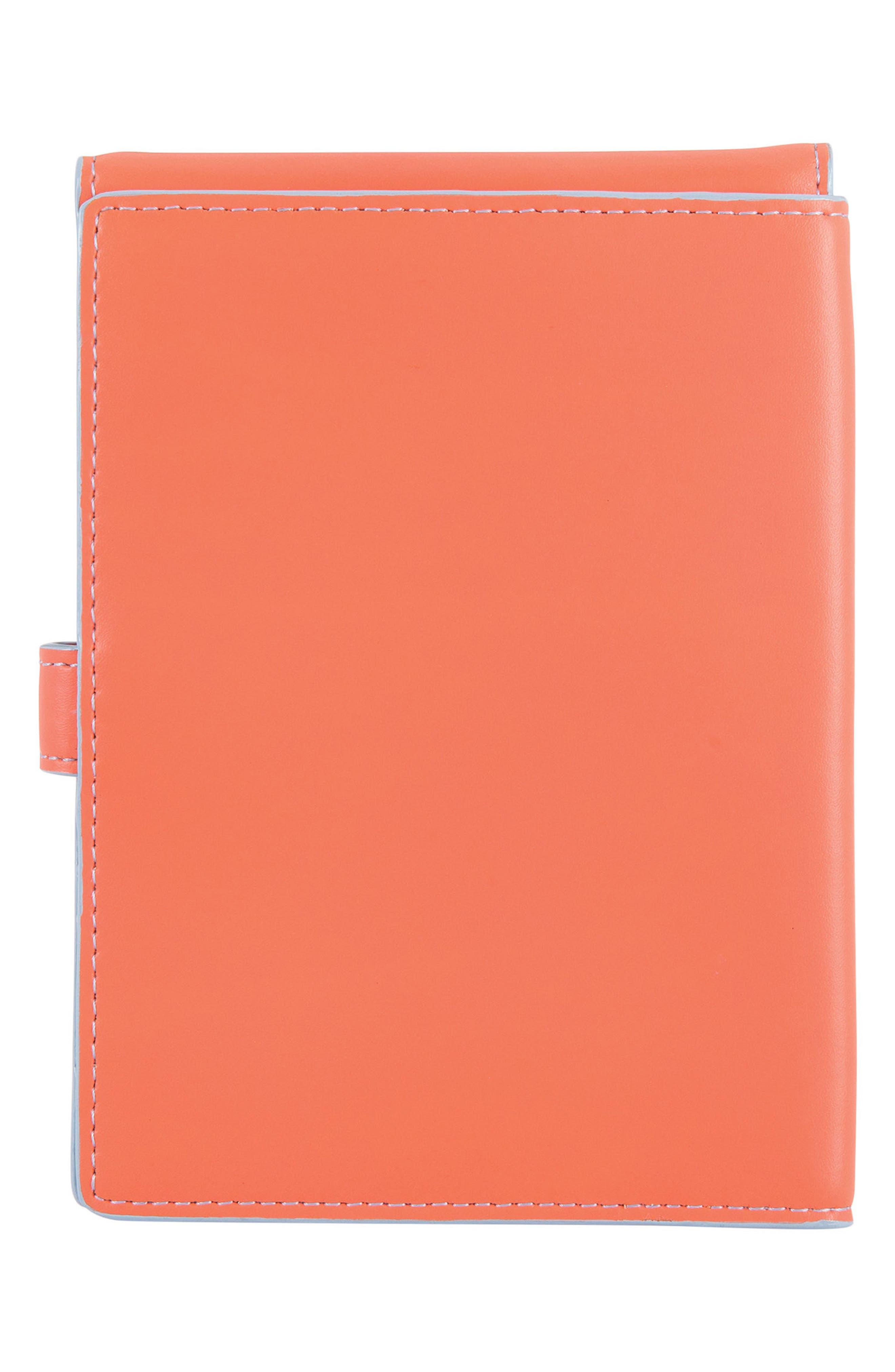 Audrey RFID Leather Passport Wallet,                             Alternate thumbnail 18, color,