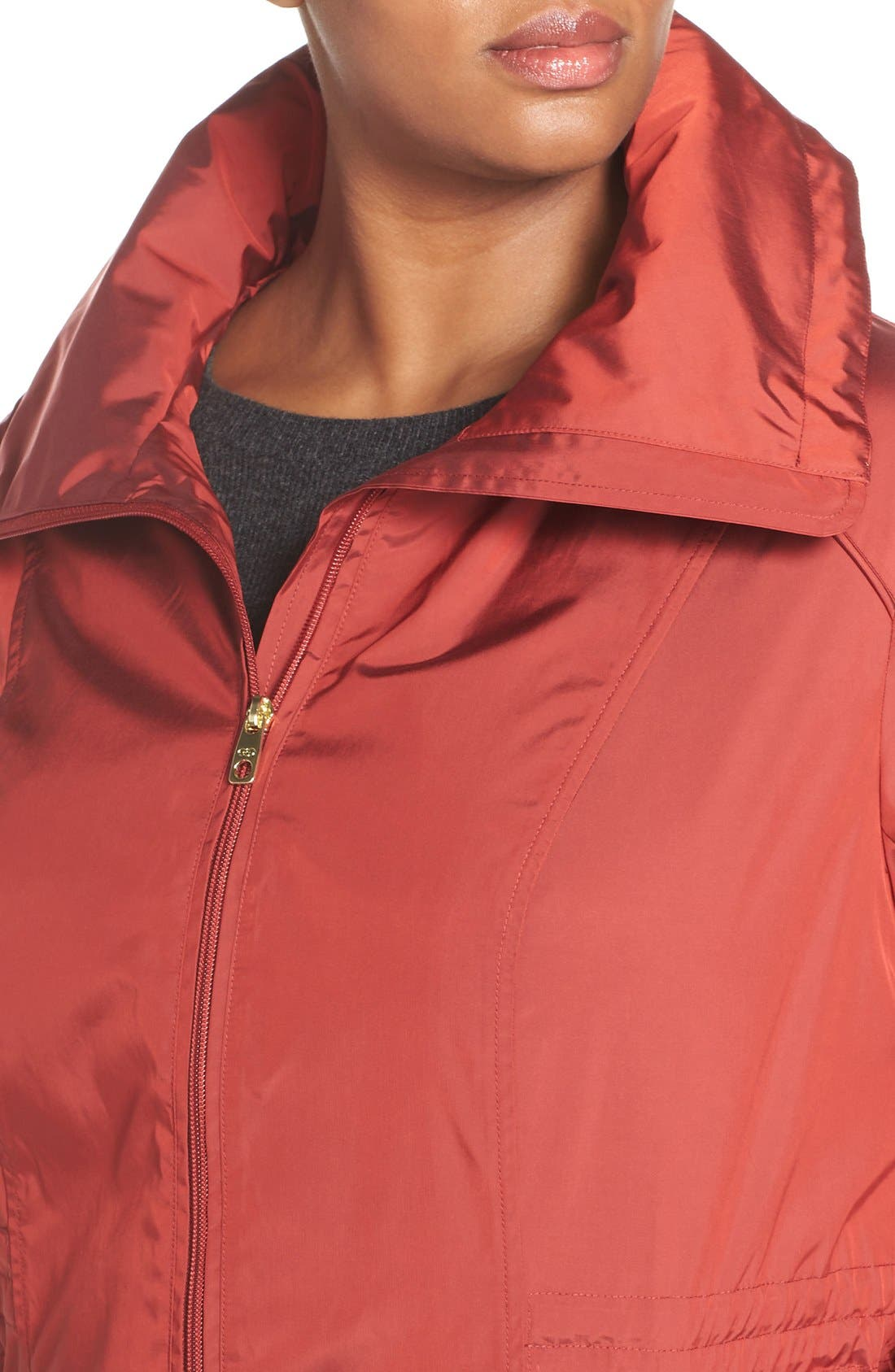 Water-Resistant Packable Hooded Anorak,                             Alternate thumbnail 20, color,