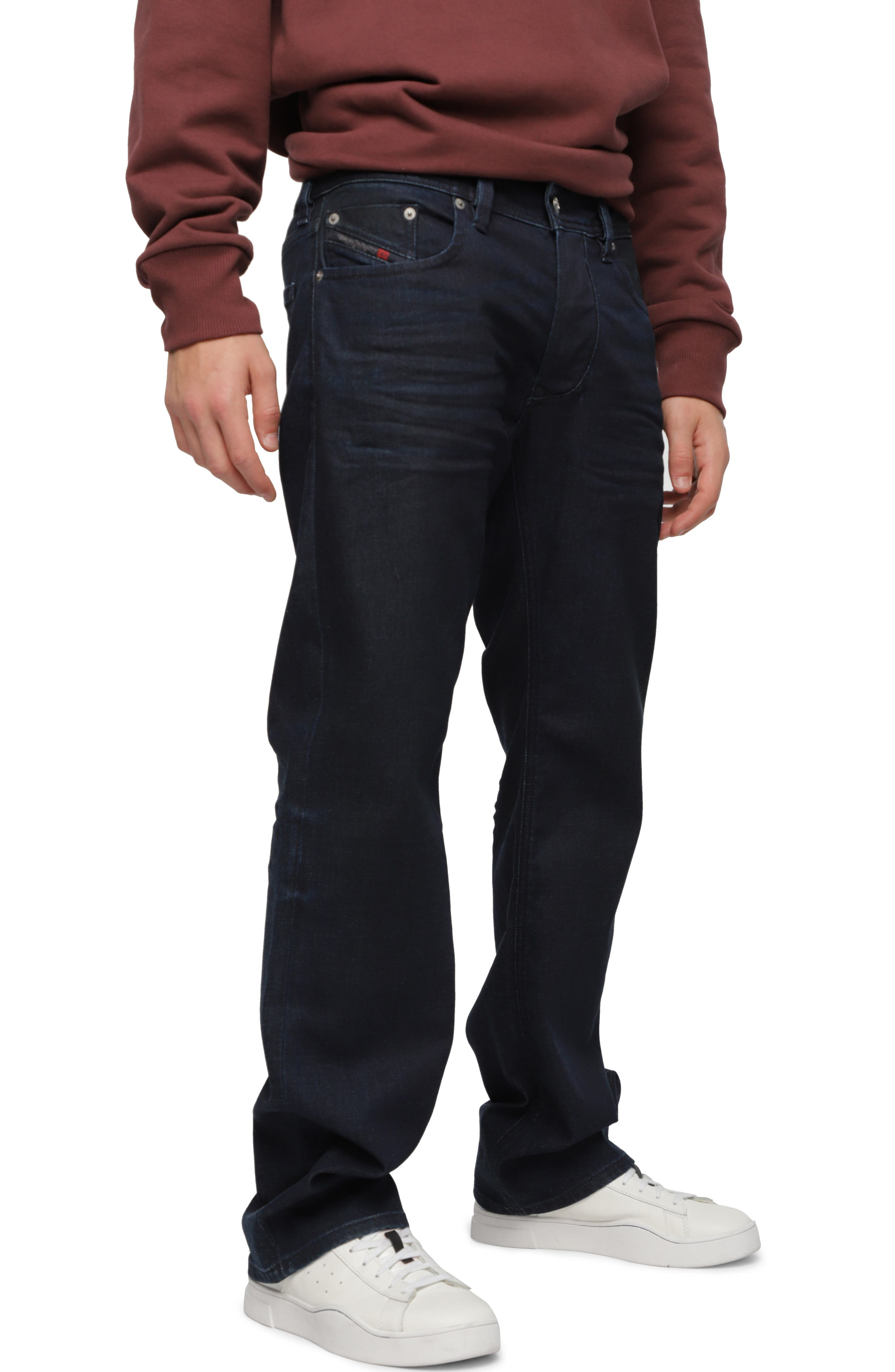 Larkee Relaxed Straight Leg Jeans,                         Main,                         color, C84ZC