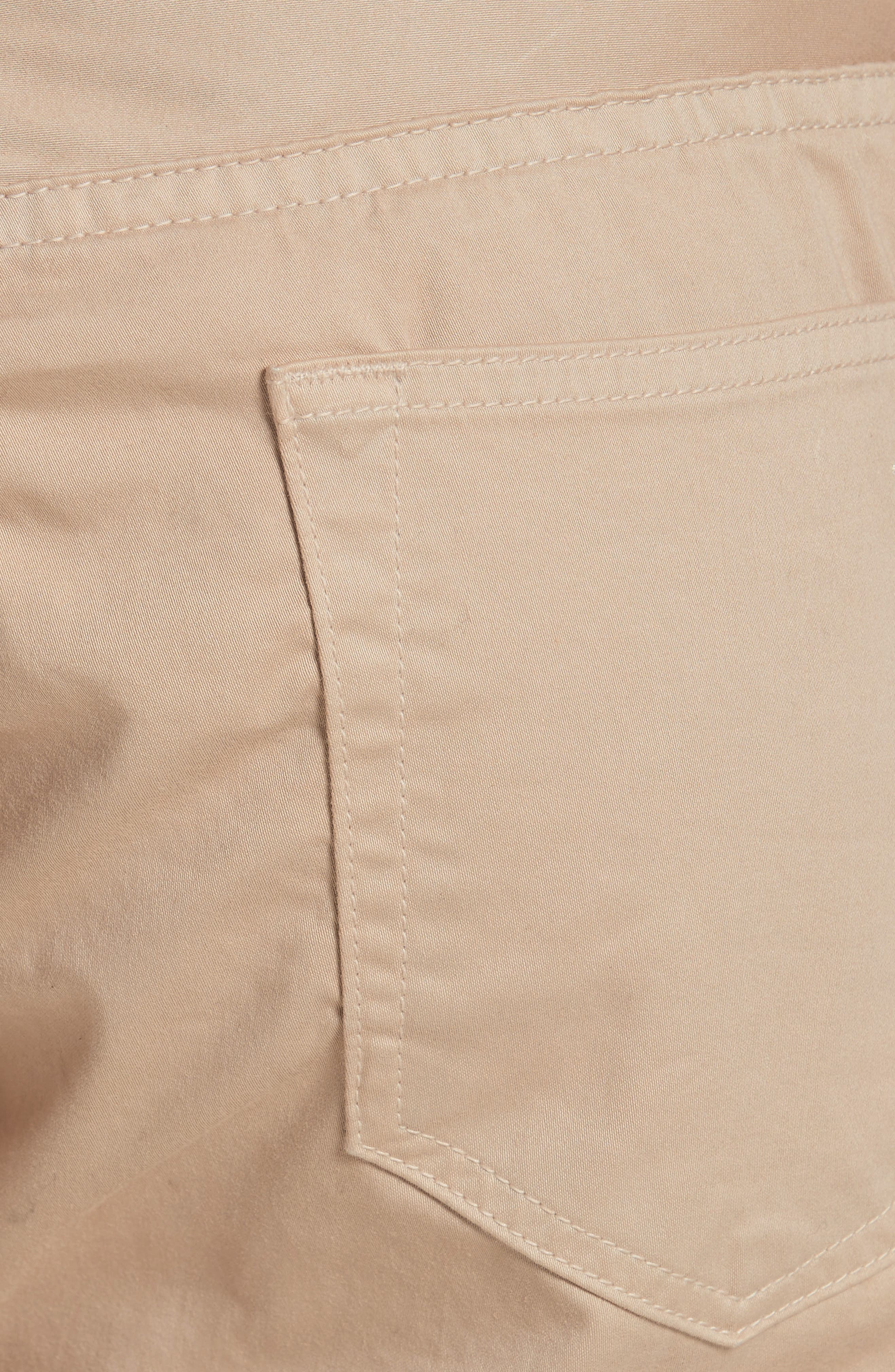 Fit 2 Five-Pocket Twill Pants,                             Alternate thumbnail 5, color,                             BEIGE