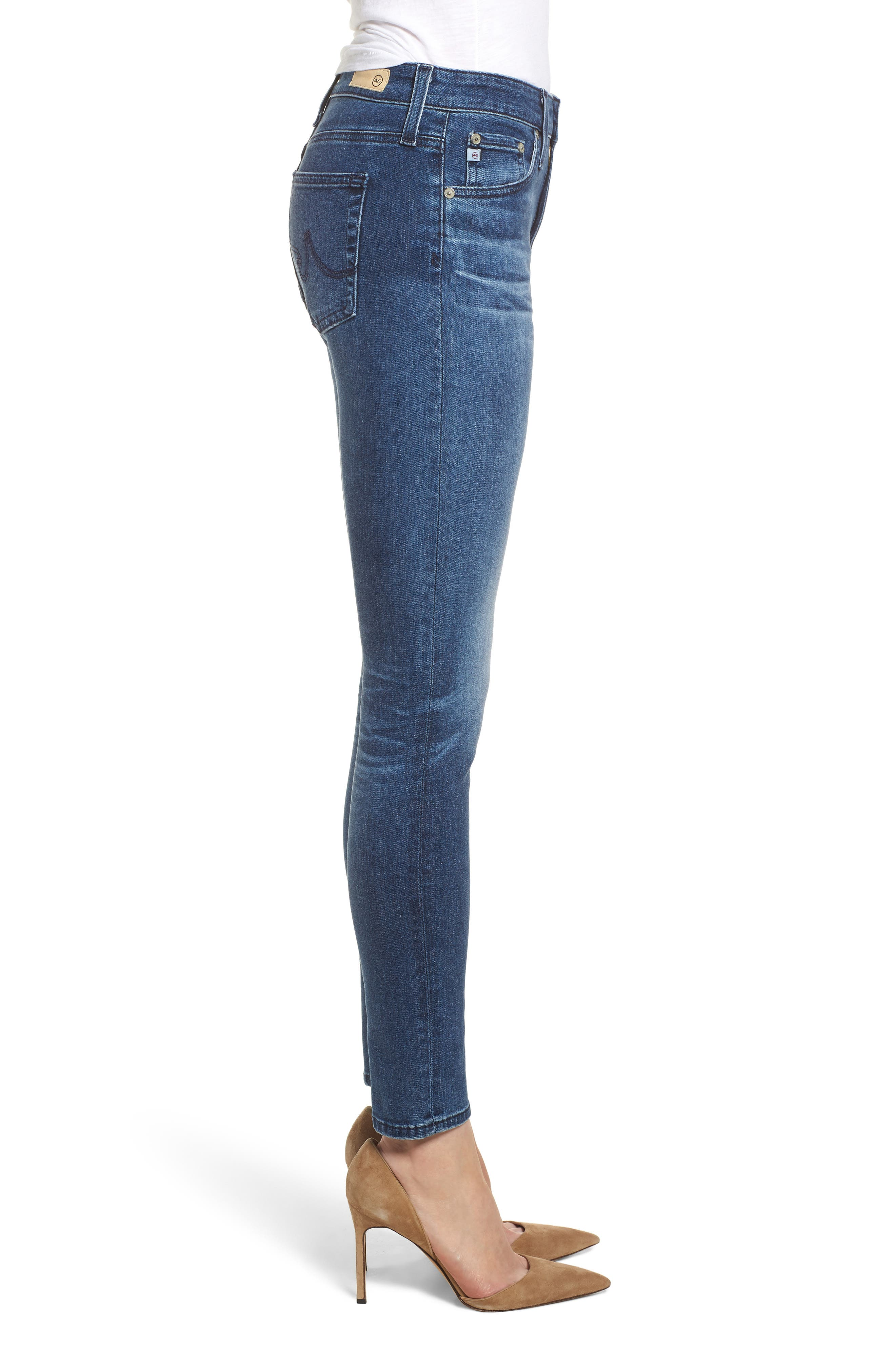 The Farrah Ankle Skinny Jeans,                             Alternate thumbnail 3, color,                             11 YEARS CONTEMPLATE