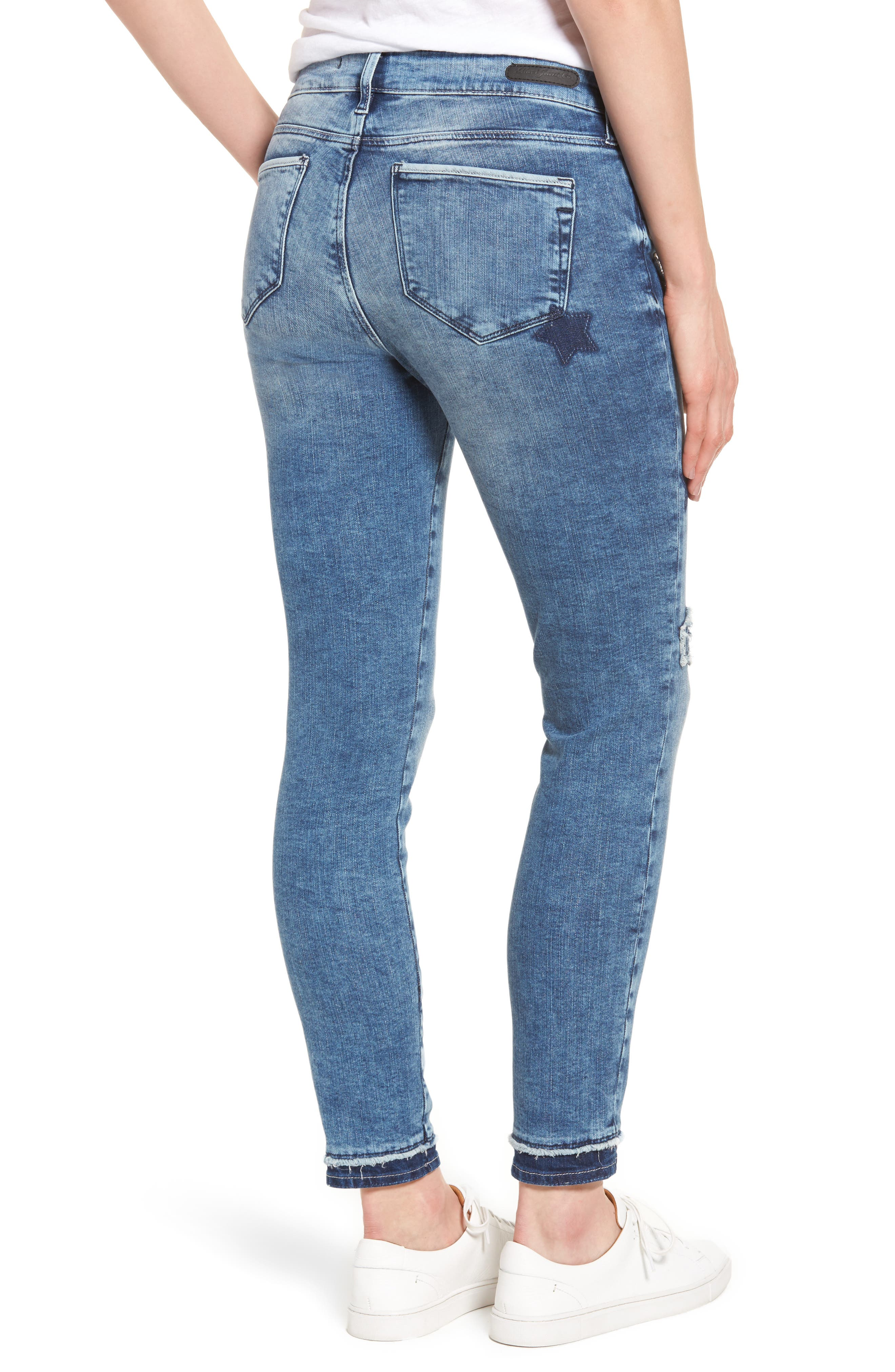 Adriana Super Skinny Ankle Jeans,                             Alternate thumbnail 2, color,                             420