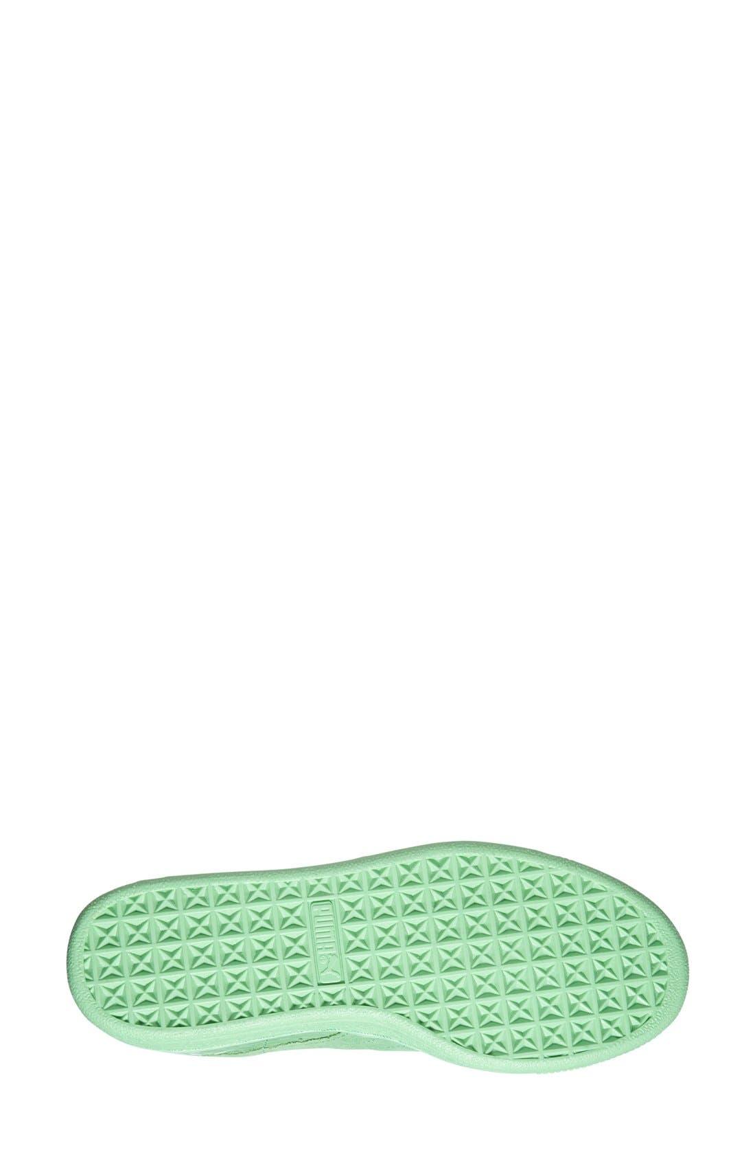 'Suede Classic - Solange' Sneaker,                             Alternate thumbnail 4, color,                             300