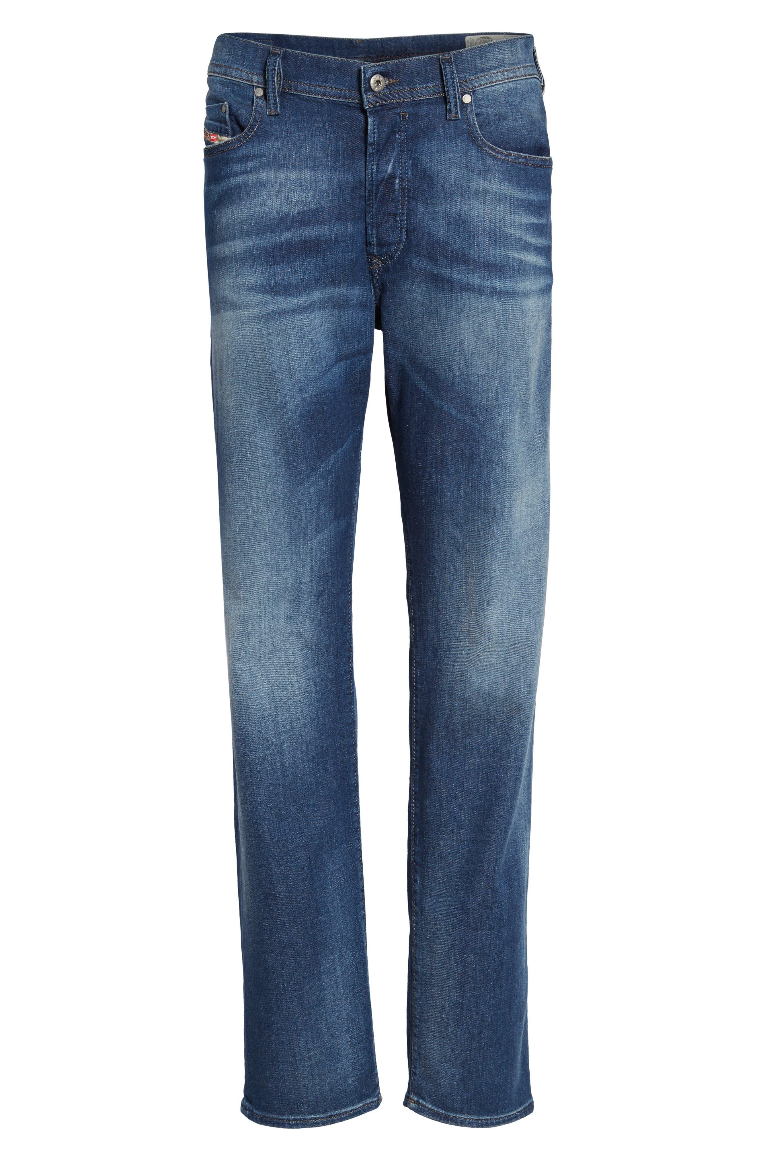 Thytan Straight Leg Jeans,                             Alternate thumbnail 6, color,                             400