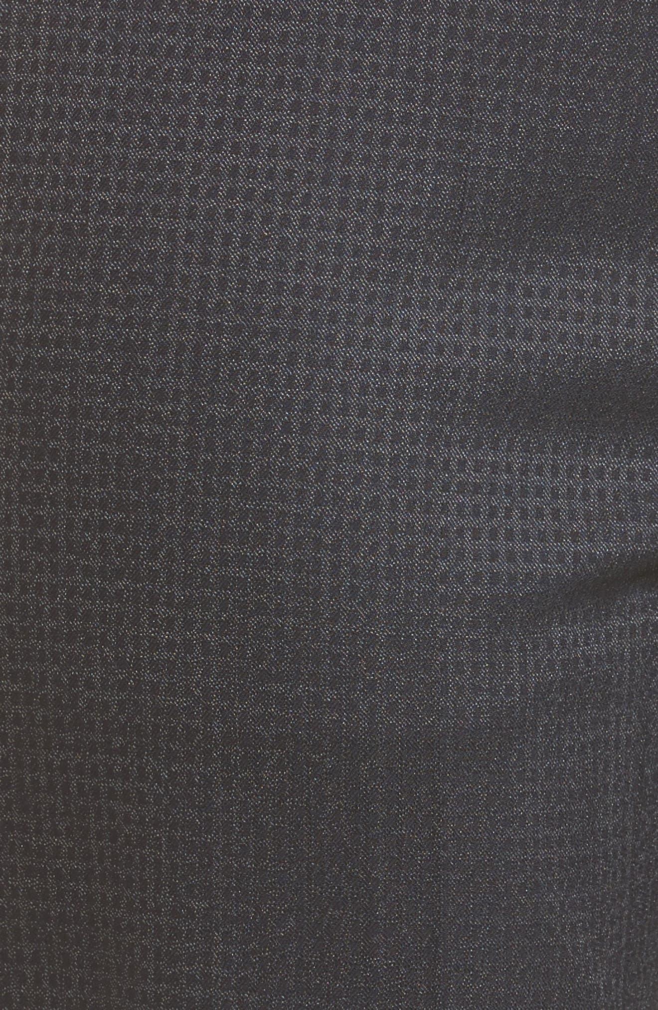 Tamea Stretch Wool Straight Leg Trousers,                             Alternate thumbnail 5, color,