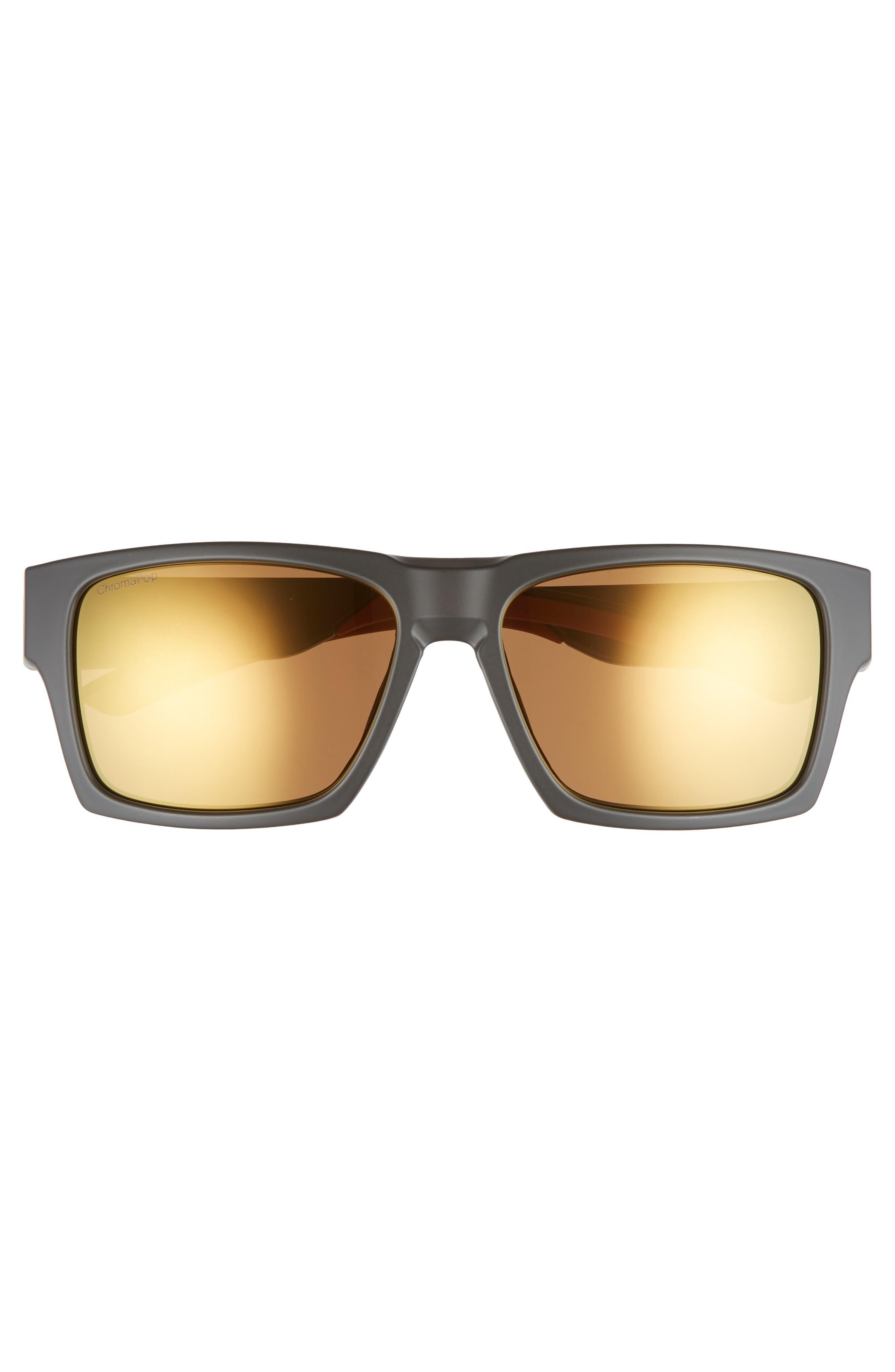 Outlier 2 XL 59mm ChromaPop Sunglasses,                             Alternate thumbnail 2, color,                             MATTE GRAVY/ BRONZE MIRROR