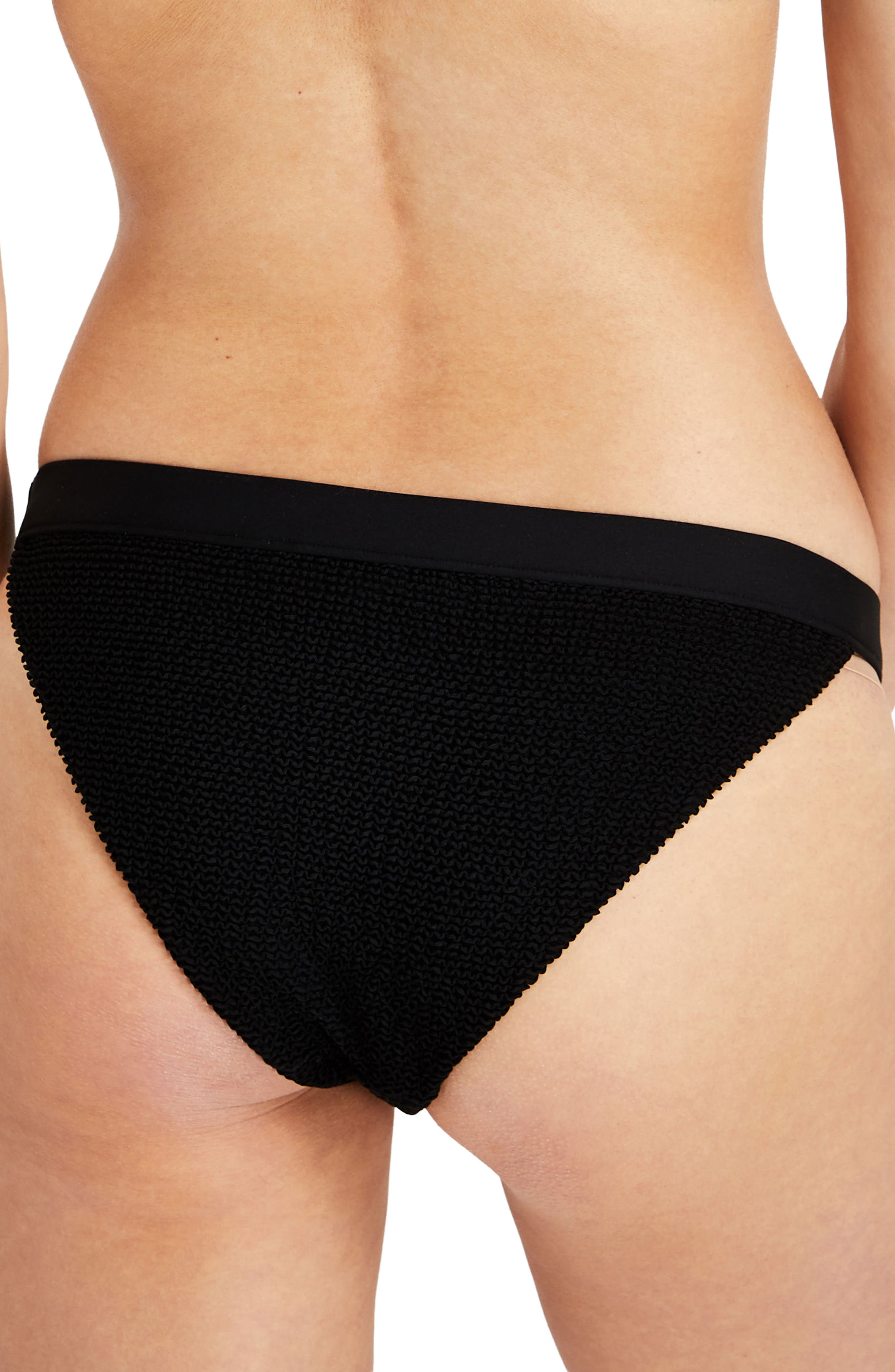 Leila Ribbed Bikini Bottoms,                             Alternate thumbnail 2, color,
