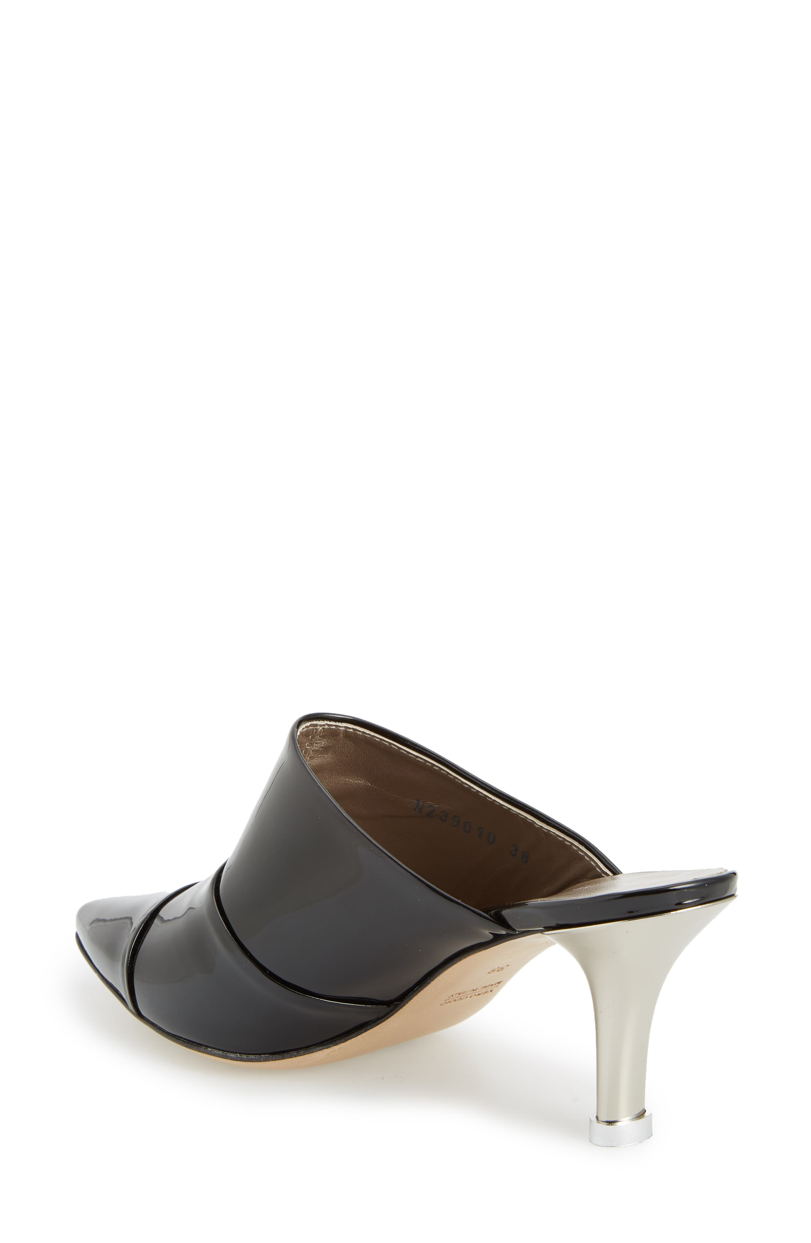Pointy Toe Mule,                             Alternate thumbnail 2, color,                             001