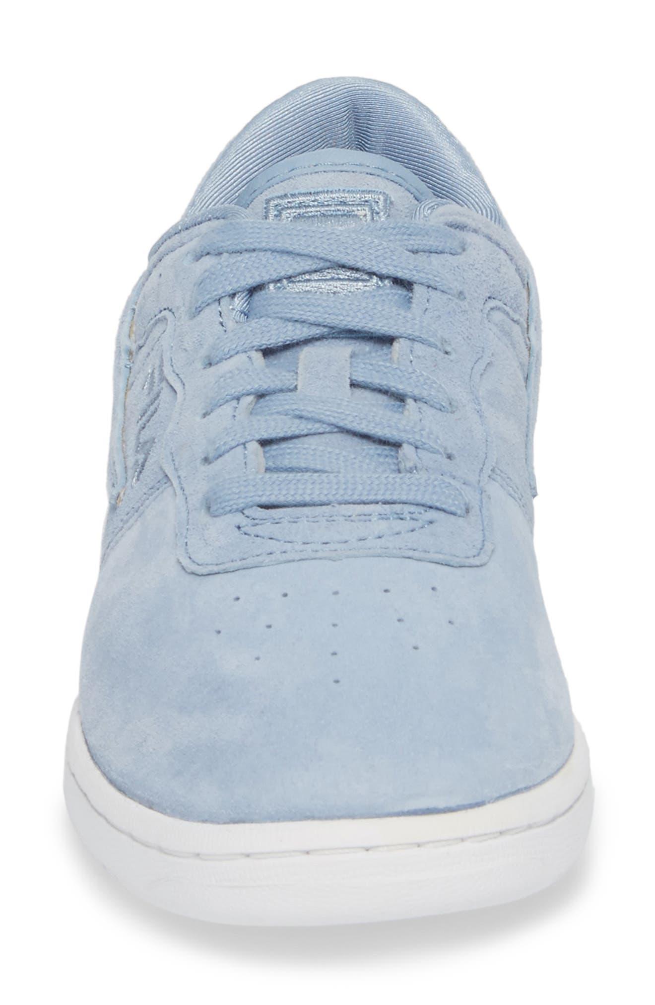 Original Fitness Premium Sneaker,                             Alternate thumbnail 4, color,                             BLUE/ WHITE