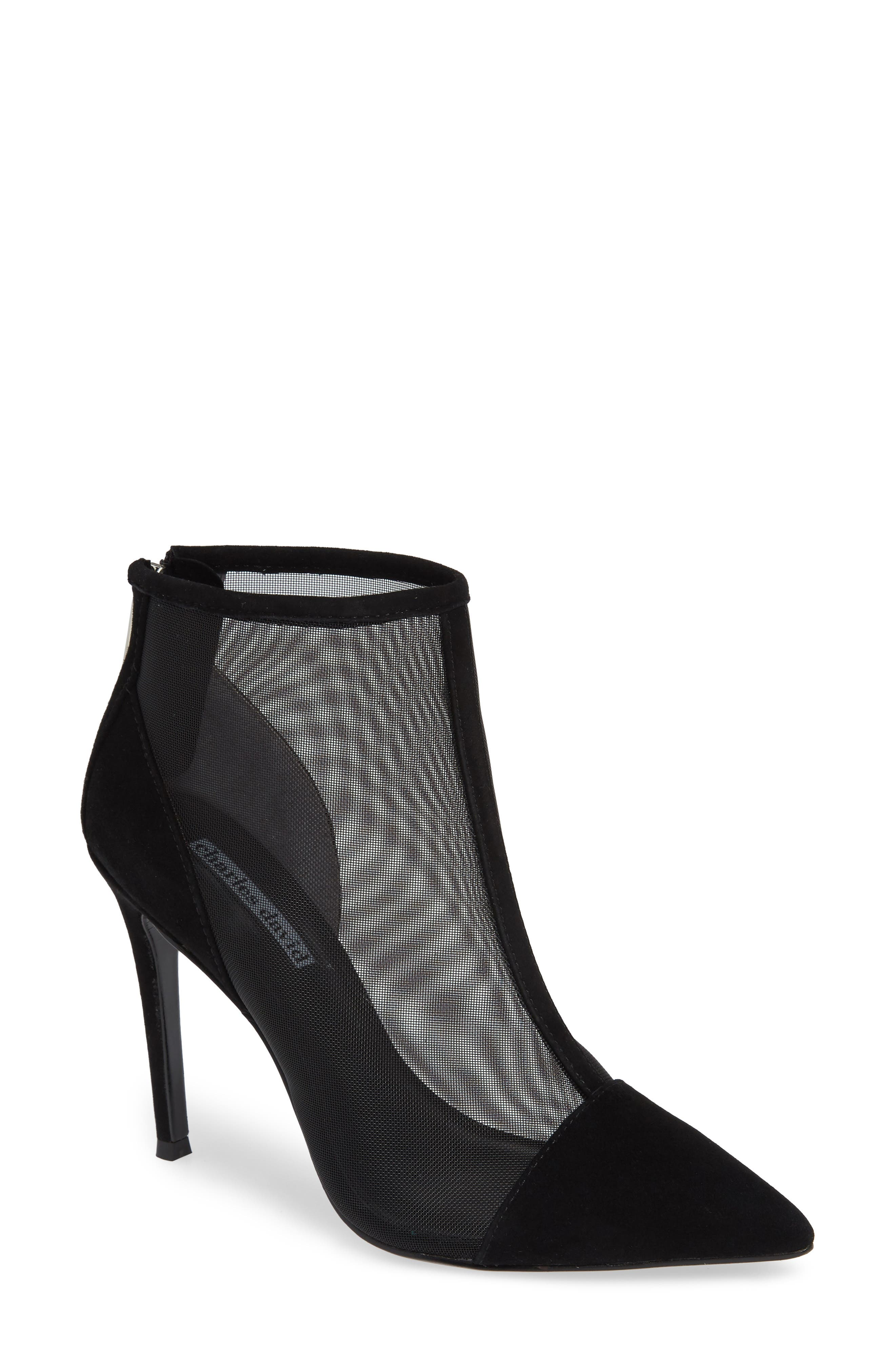 Charles David Cashmere Mesh Bootie