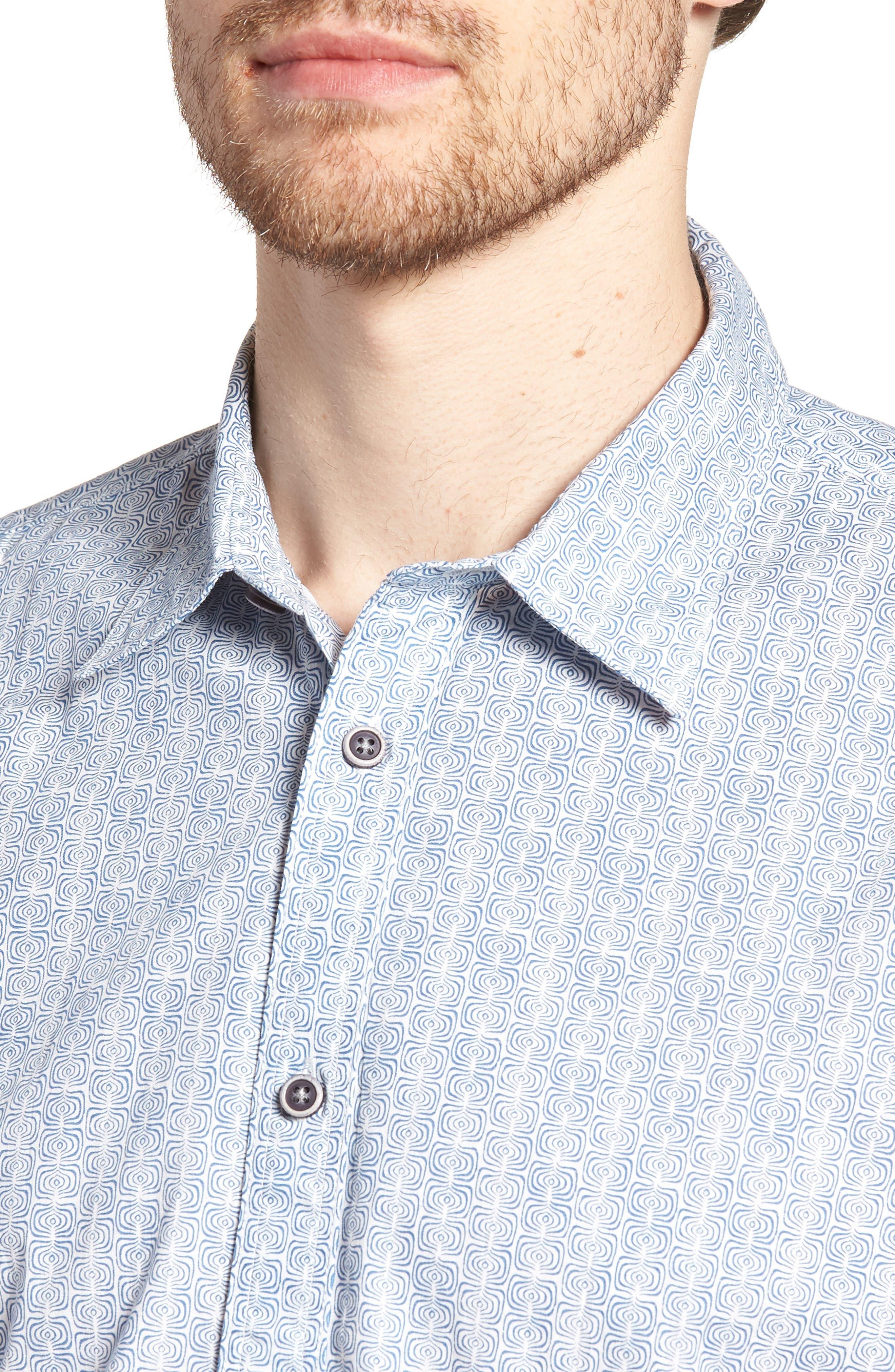Jacurre Regular Fit Short Sleeve Sport Shirt,                             Alternate thumbnail 4, color,                             462