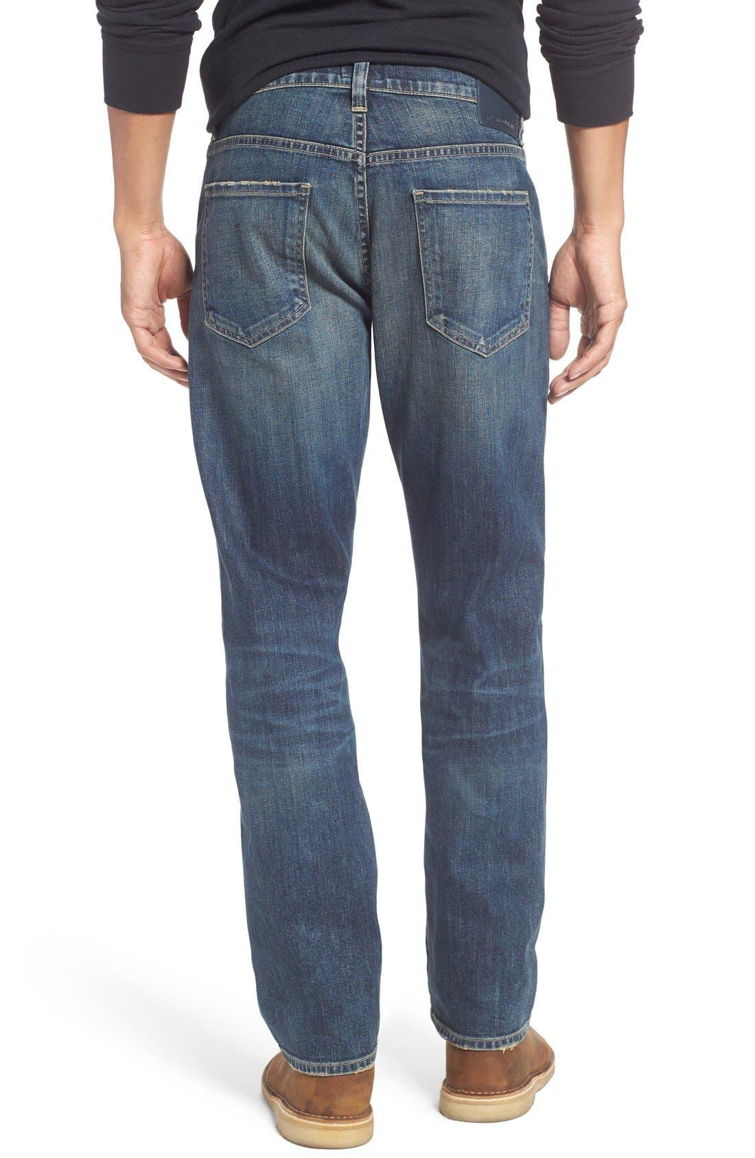 Gage Slim Straight Leg Jeans,                             Alternate thumbnail 7, color,                             DUNES