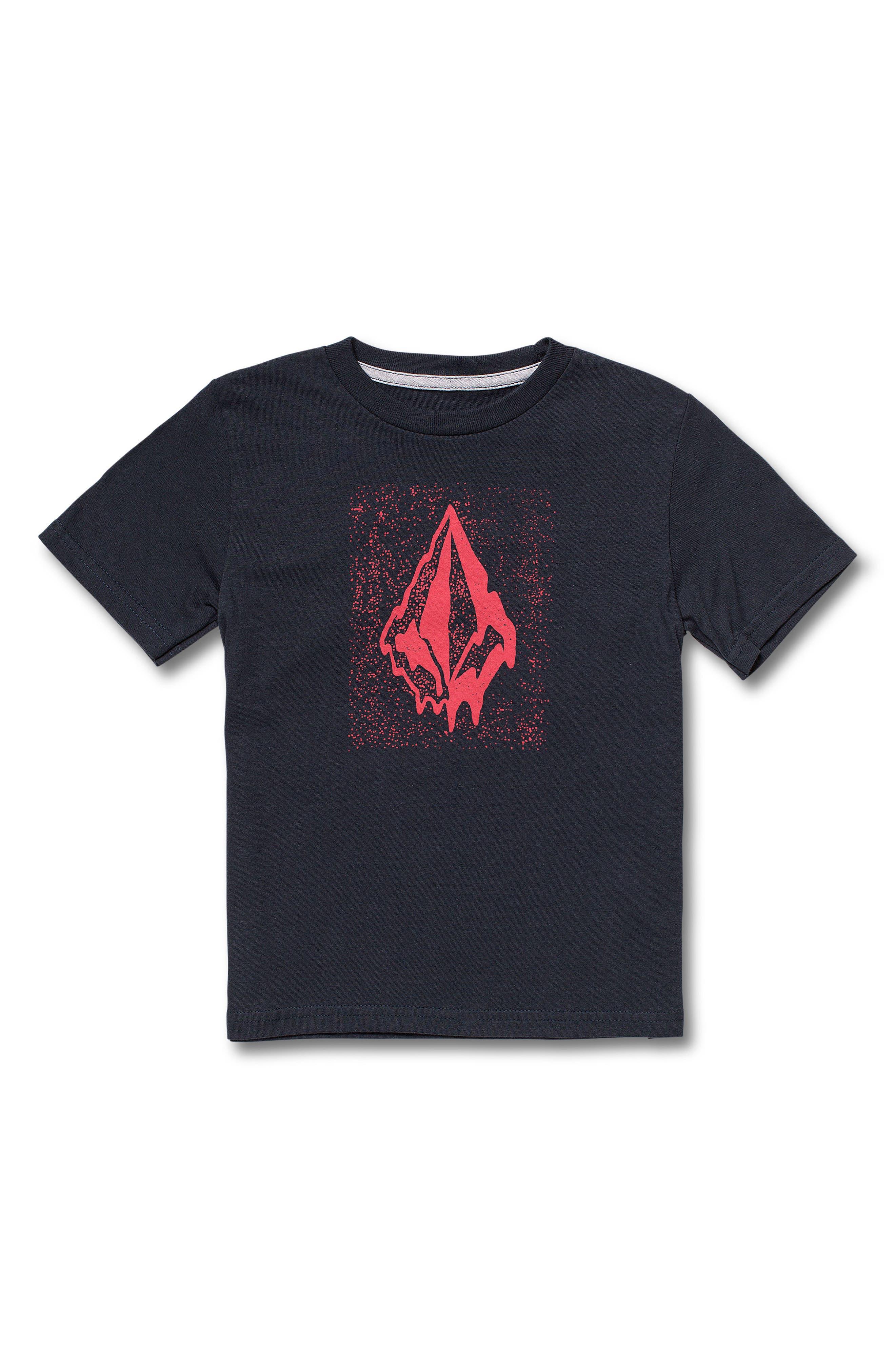Boys Volcom Logo Graphic TShirt