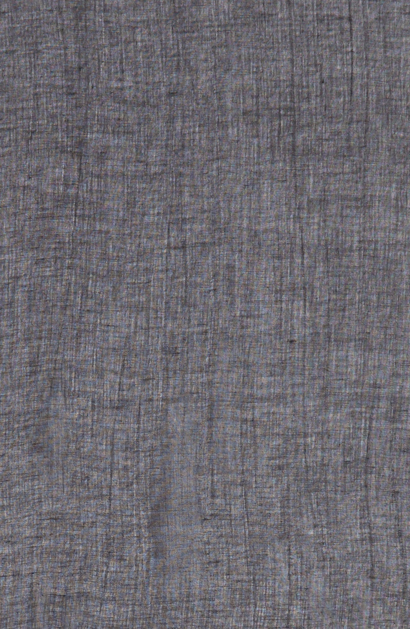 Caslon<sup>®</sup> Linen Blend Scarf,                             Alternate thumbnail 4, color,                             001