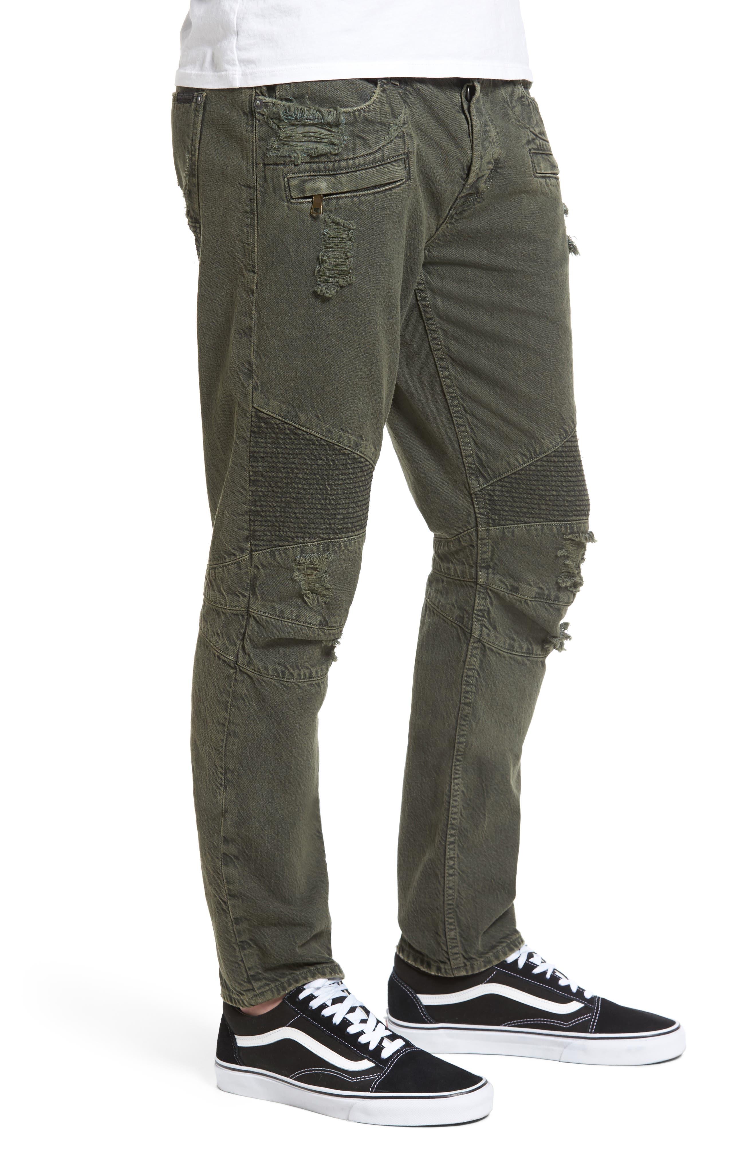 Blinder Biker Skinny Fit Jeans,                             Alternate thumbnail 3, color,                             300