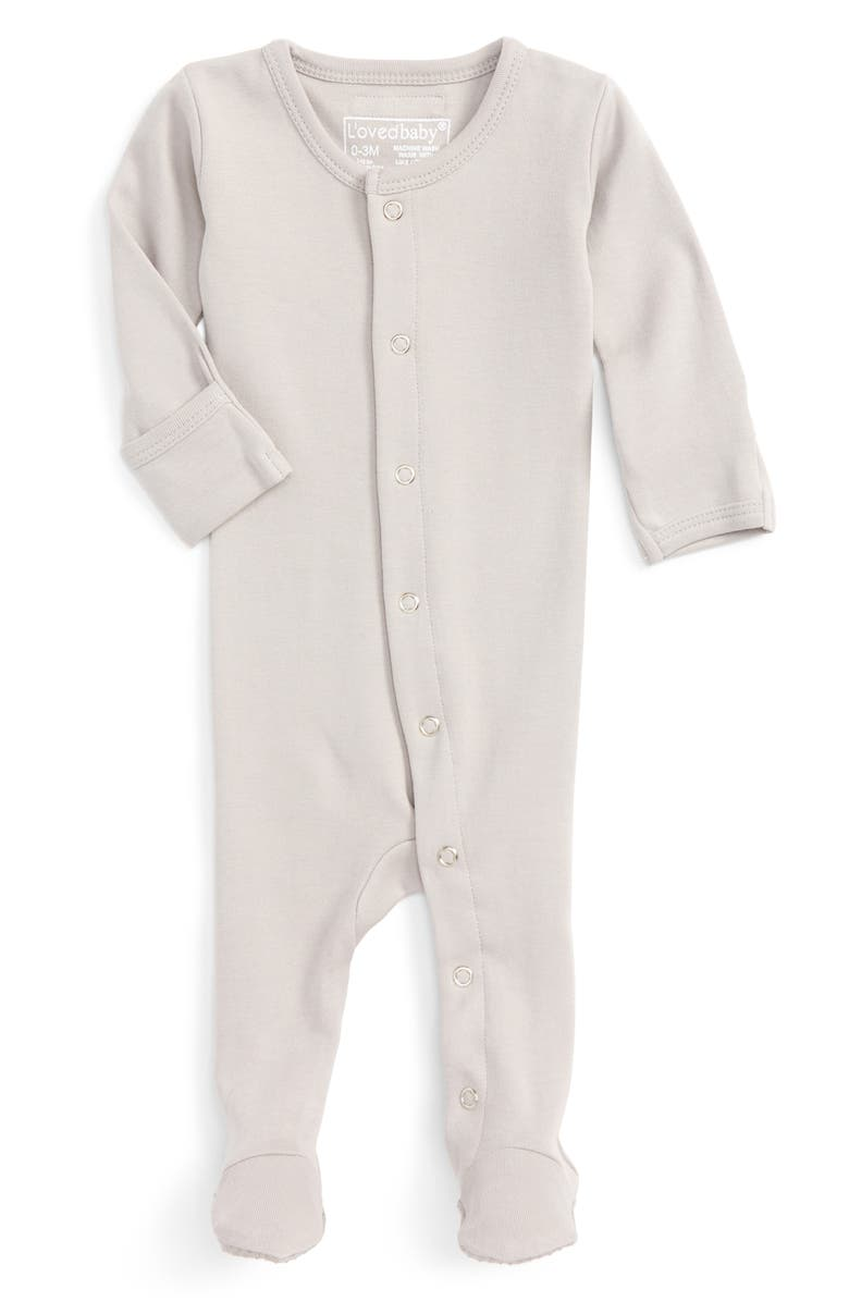 dcac16890b L ovedbaby Organic Cotton Footie (Baby)