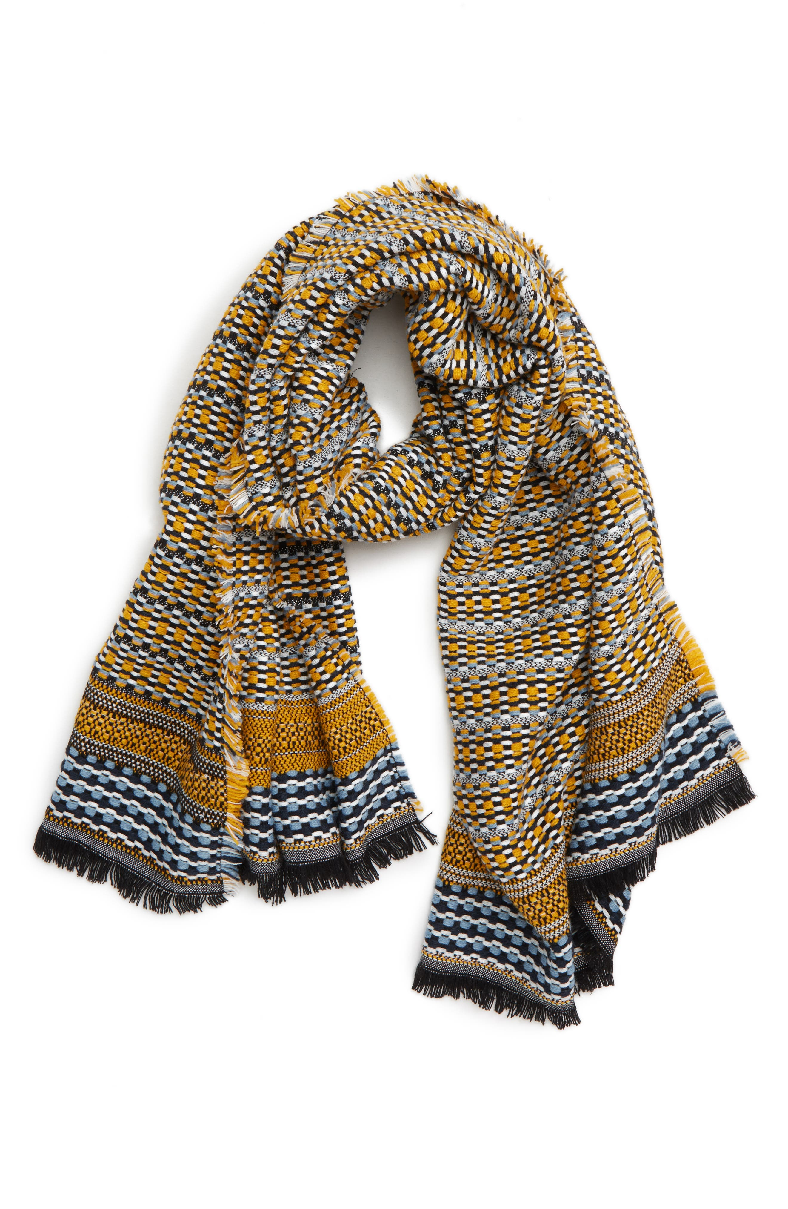 Multipattern Scarf,                         Main,                         color, 700