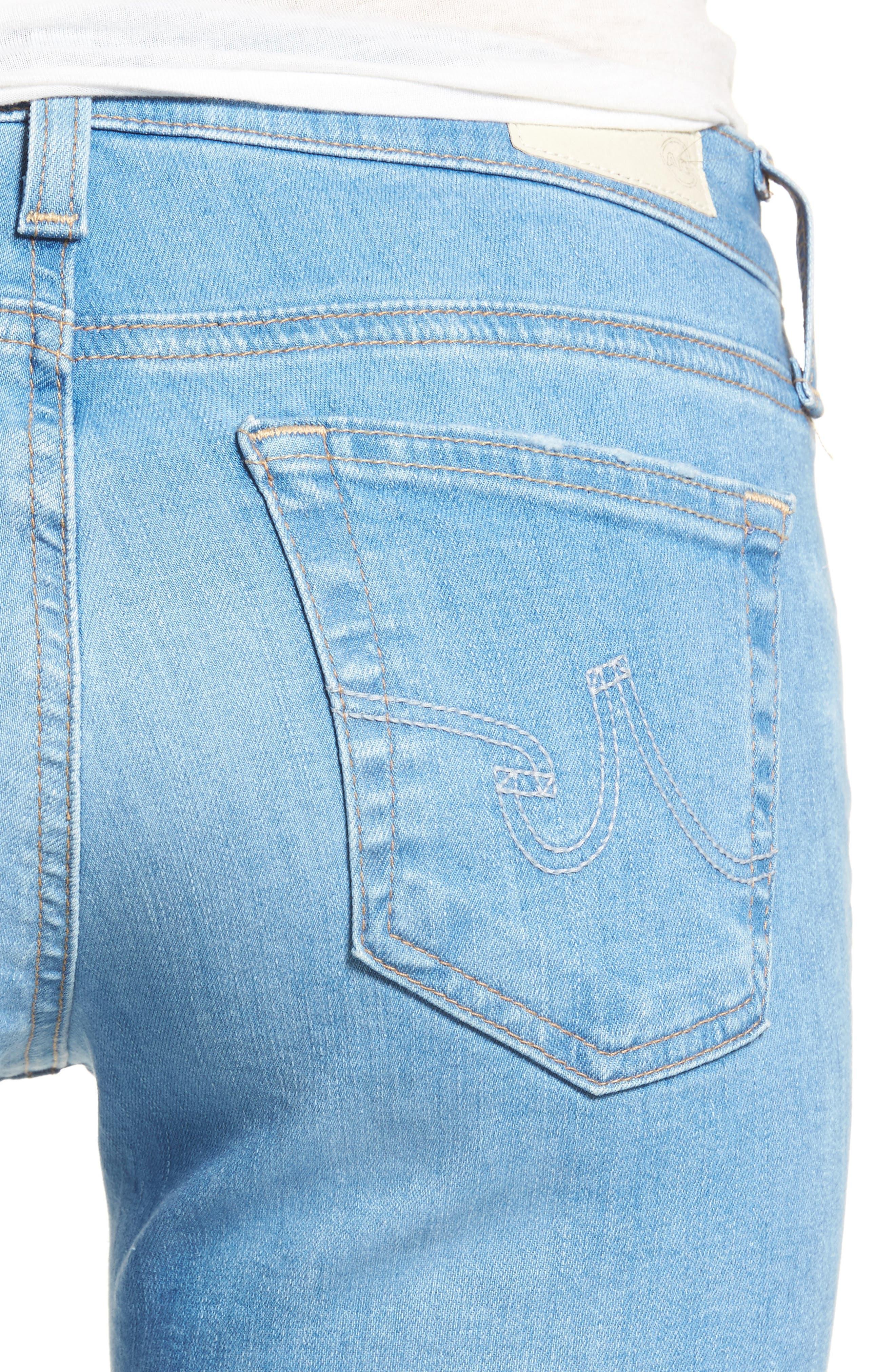 The Stilt Crop Skinny Jeans,                             Alternate thumbnail 4, color,                             461