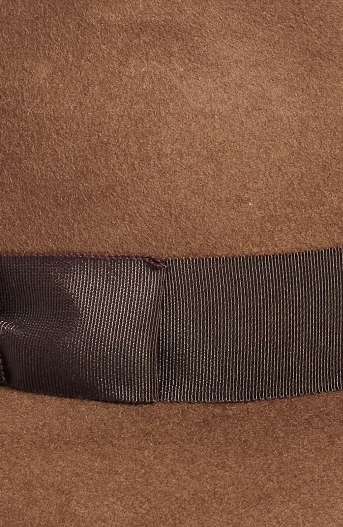 'Kim' Wool Fedora,                             Alternate thumbnail 10, color,