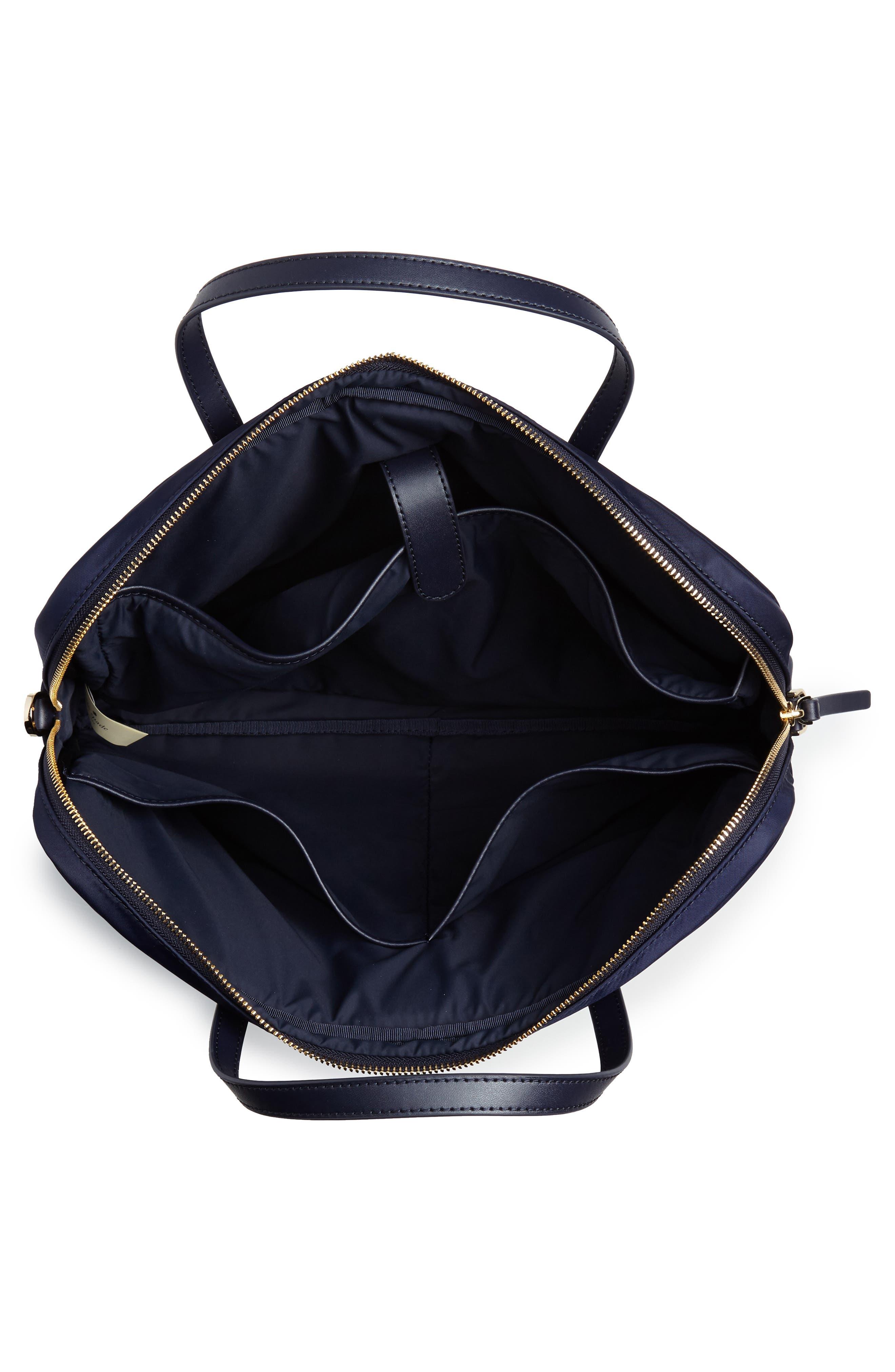 varsity stripe 15-inch laptop bag,                             Alternate thumbnail 4, color,                             493