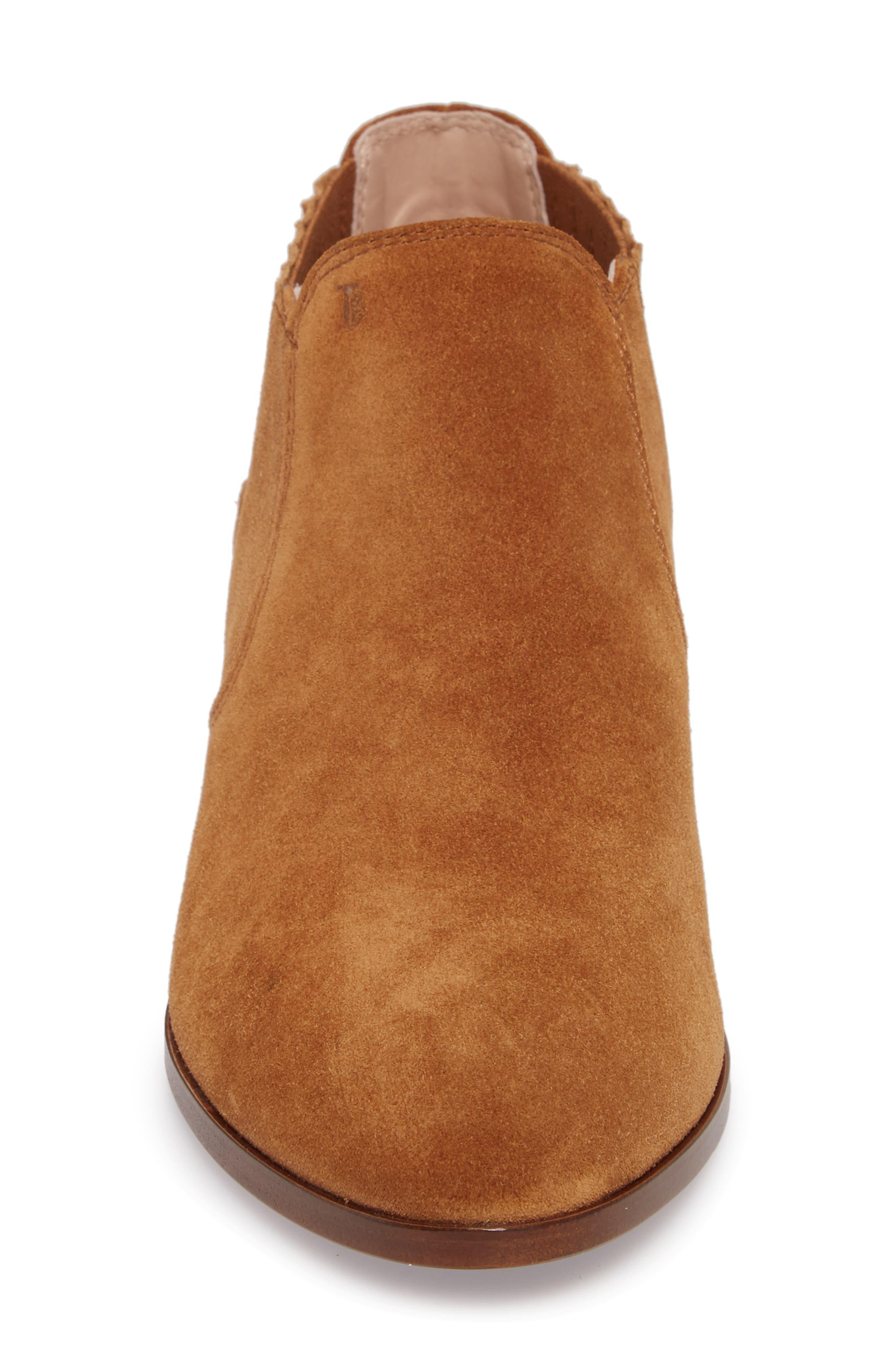 TOD'S,                             Tex Ankle Boot,                             Alternate thumbnail 4, color,                             200