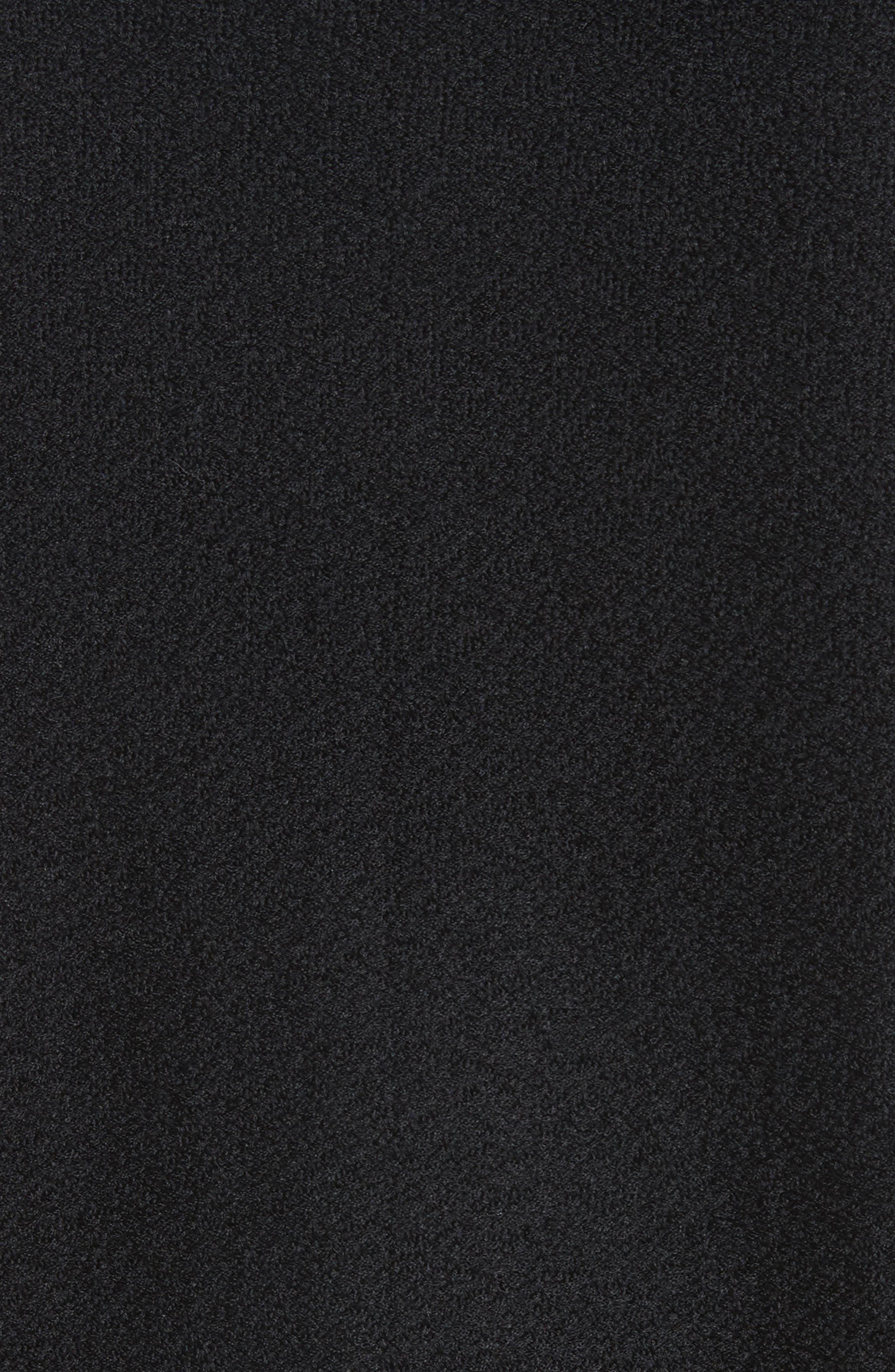 ST. JOHN COLLECTION,                             Hannah Knit A-Line Jacket,                             Alternate thumbnail 6, color,                             001