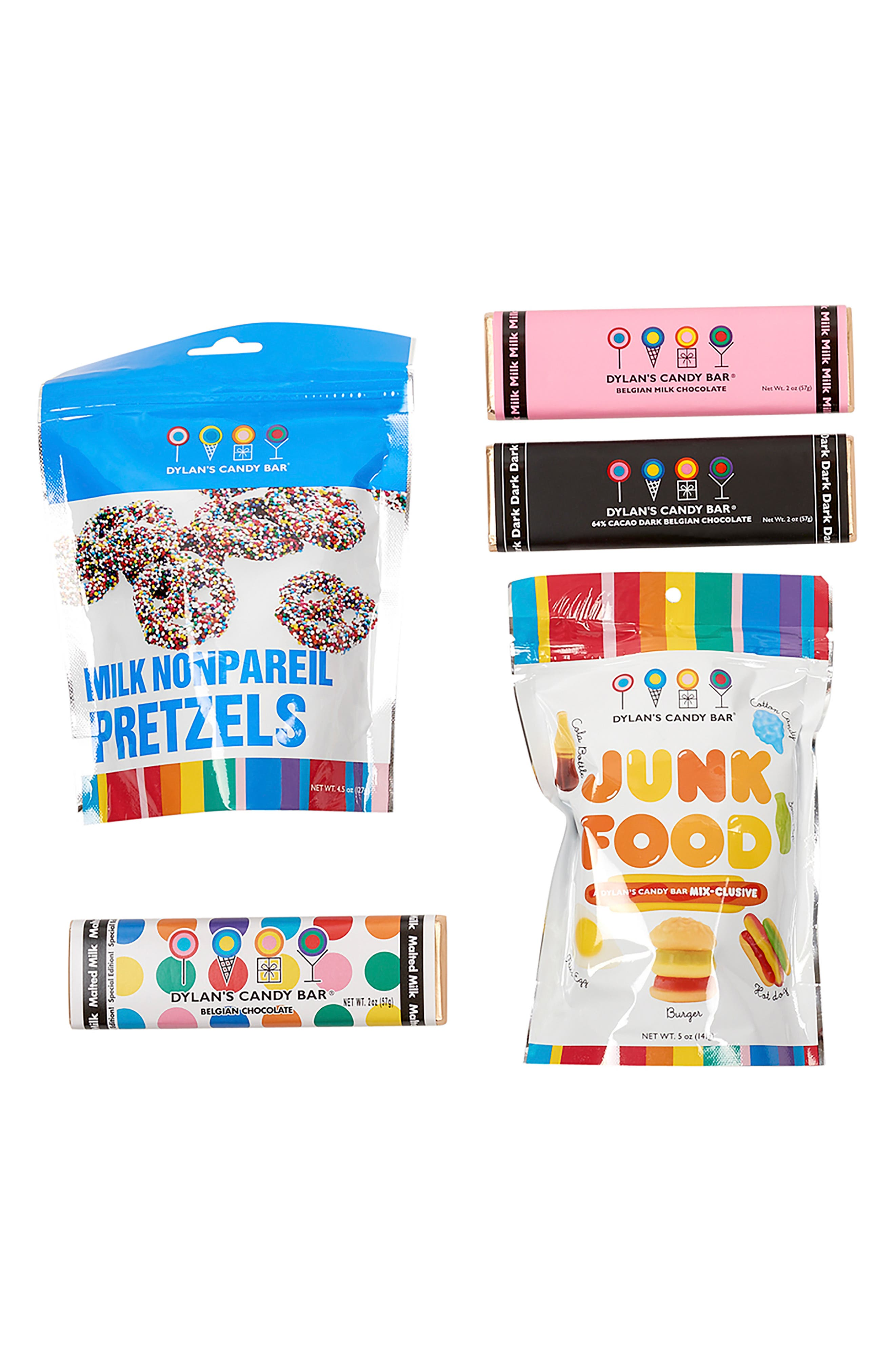 Mini Party In A Bucket Candy Assortment,                             Alternate thumbnail 4, color,                             BLUE MULTI