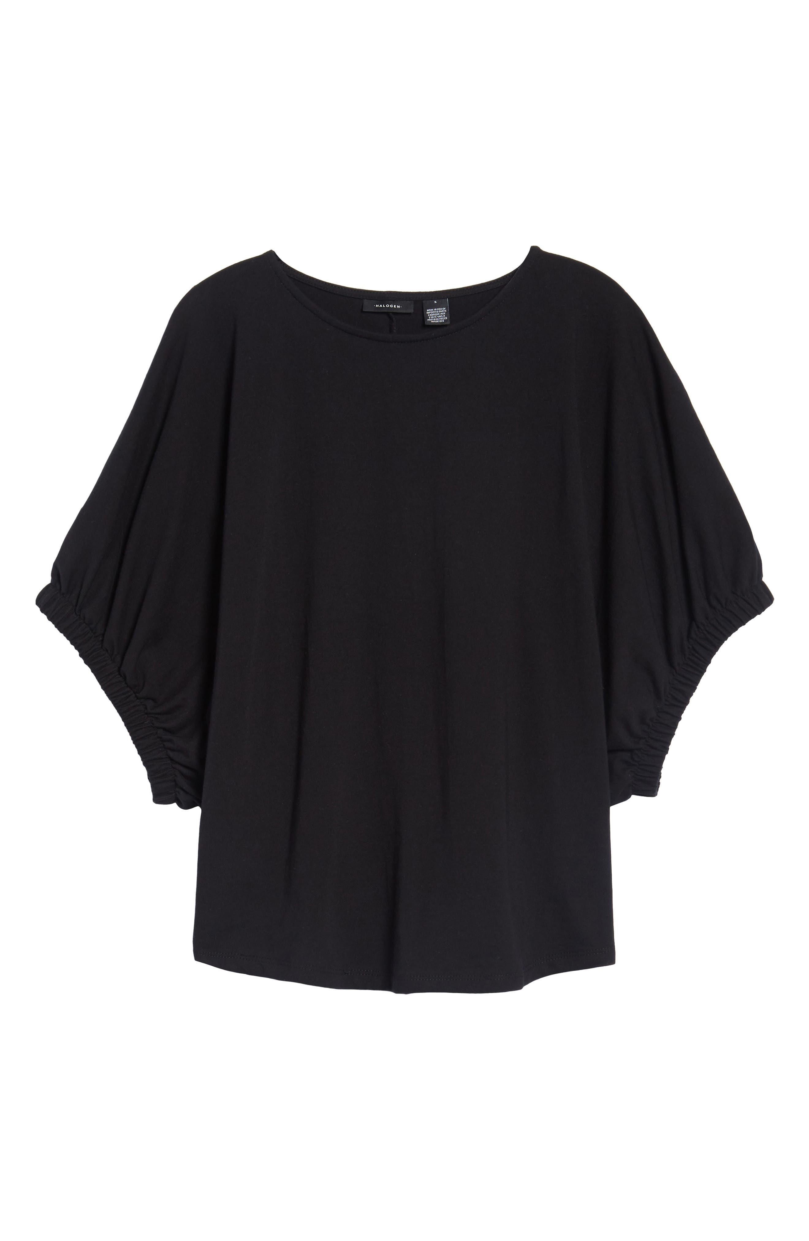 Dolman Sleeve Top,                             Alternate thumbnail 6, color,                             001