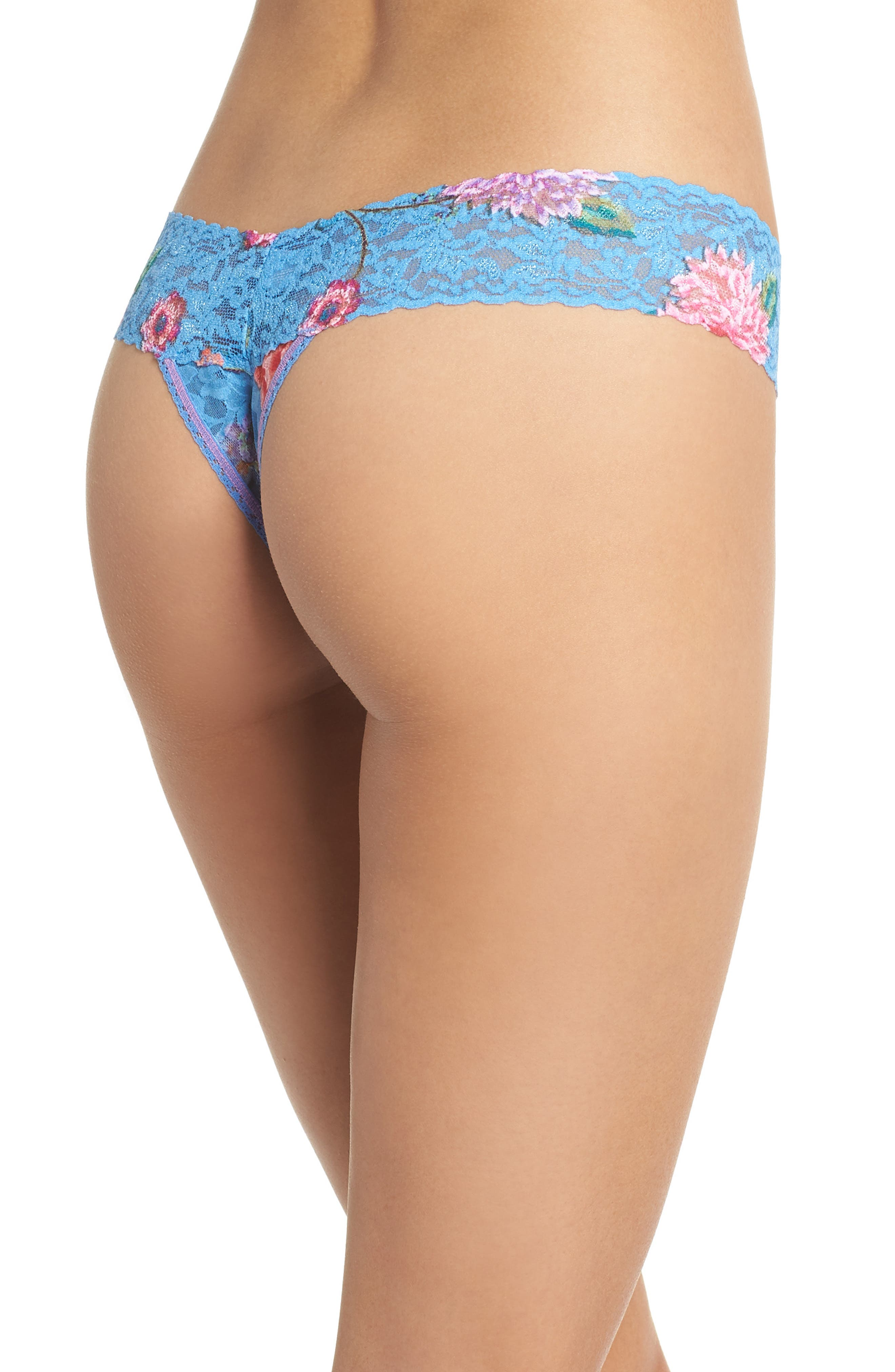Print Low Rise Thong,                             Alternate thumbnail 29, color,