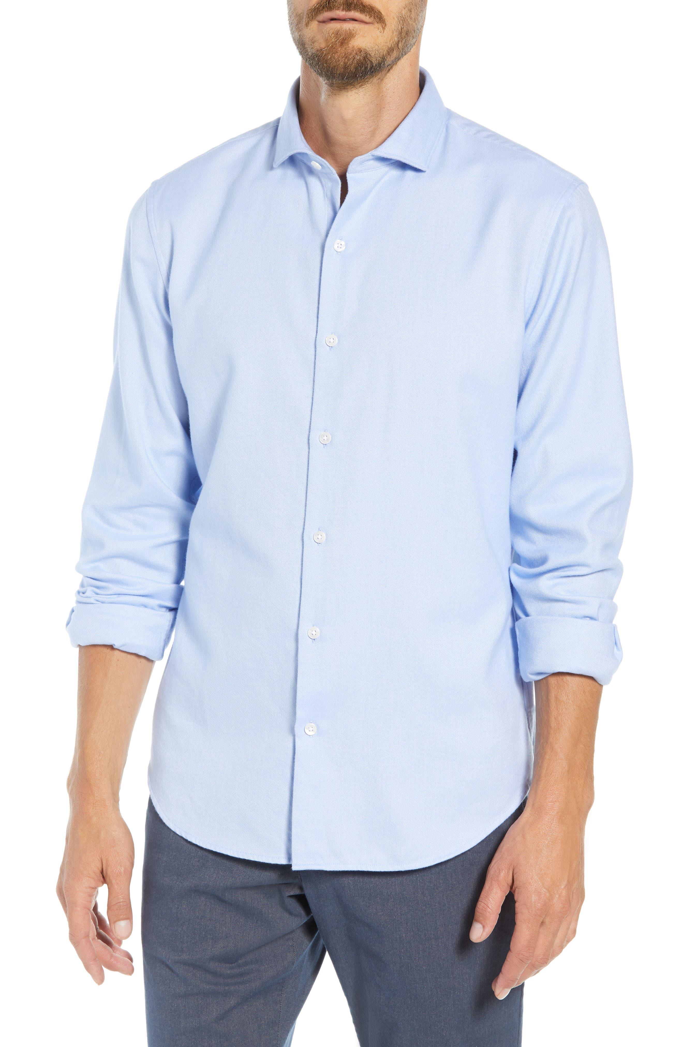 Unbutton Slim Fit Sport Shirt,                         Main,                         color, 400