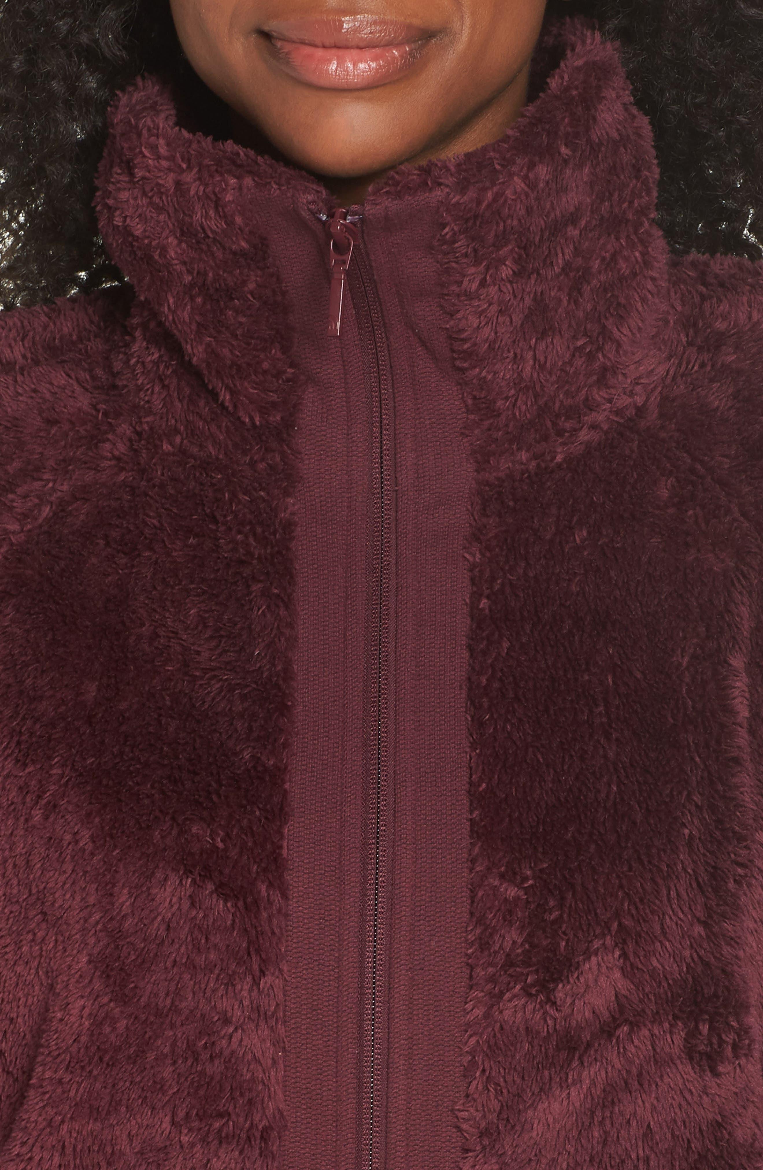 Furry Fleece Jacket,                             Alternate thumbnail 27, color,