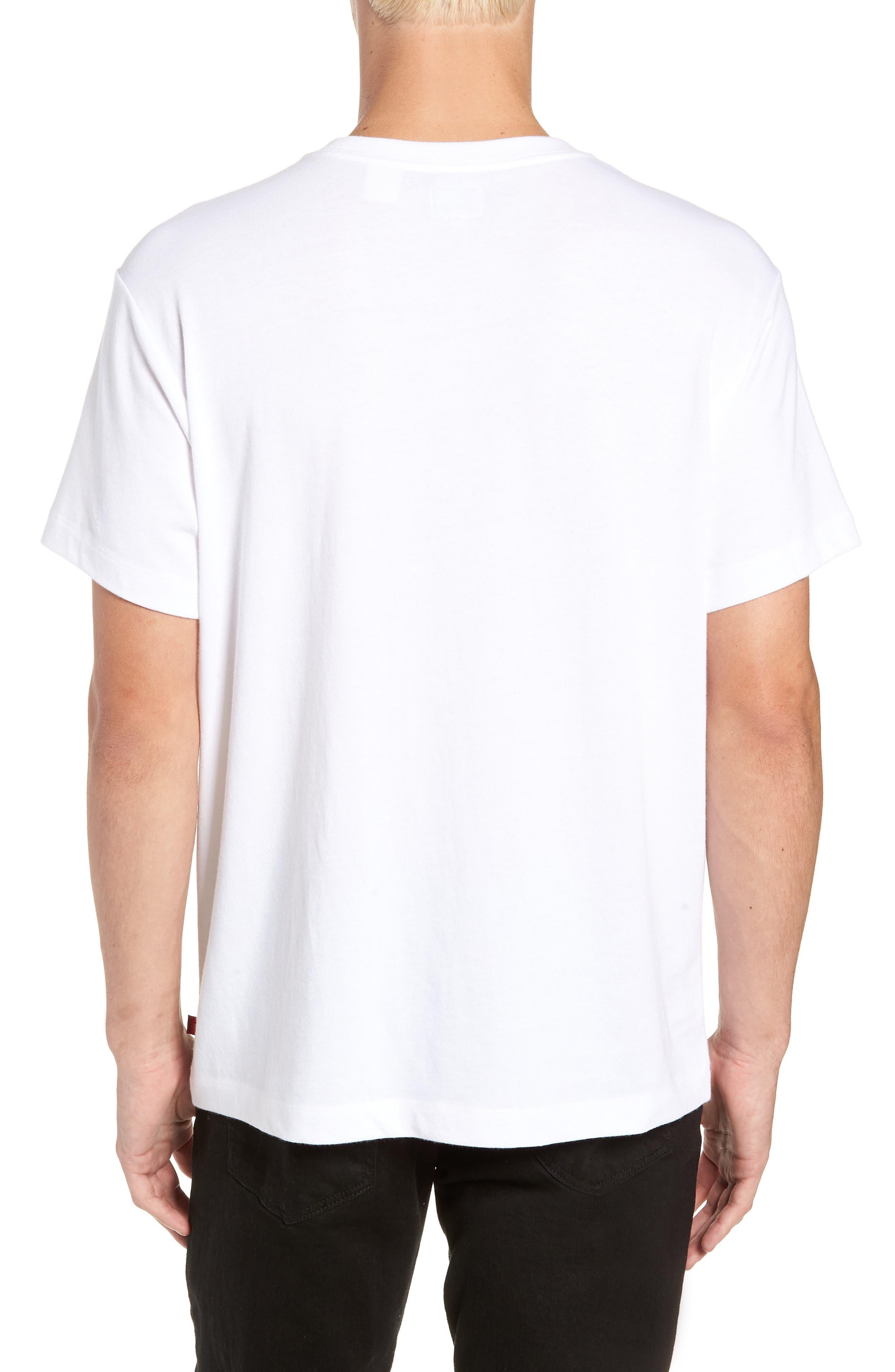 x Justin Timberlake Logo Graphic T-Shirt,                             Alternate thumbnail 2, color,                             FRESH LEAVES WHITE