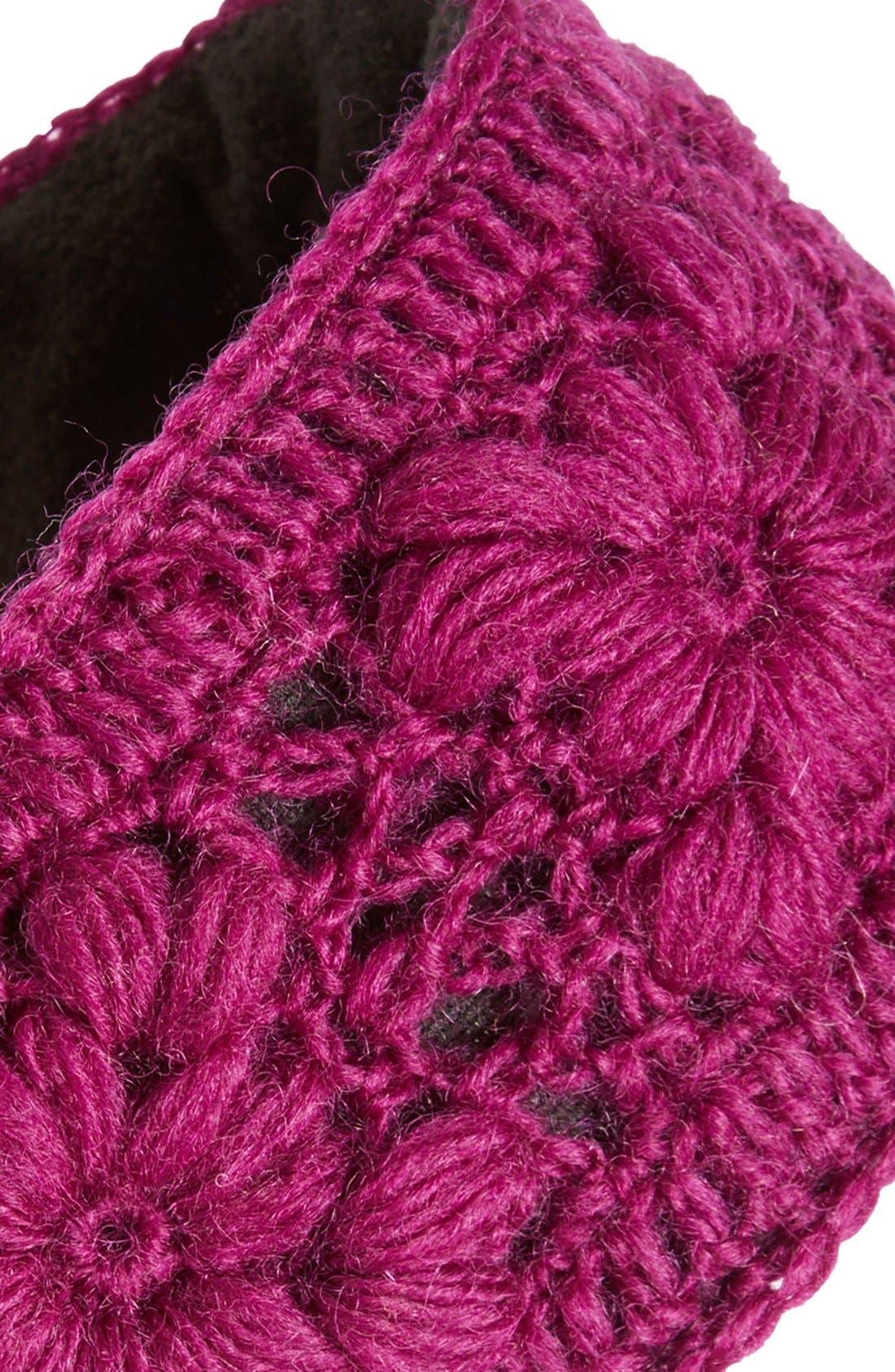 Crochet Ear Warmer Headband,                             Alternate thumbnail 19, color,