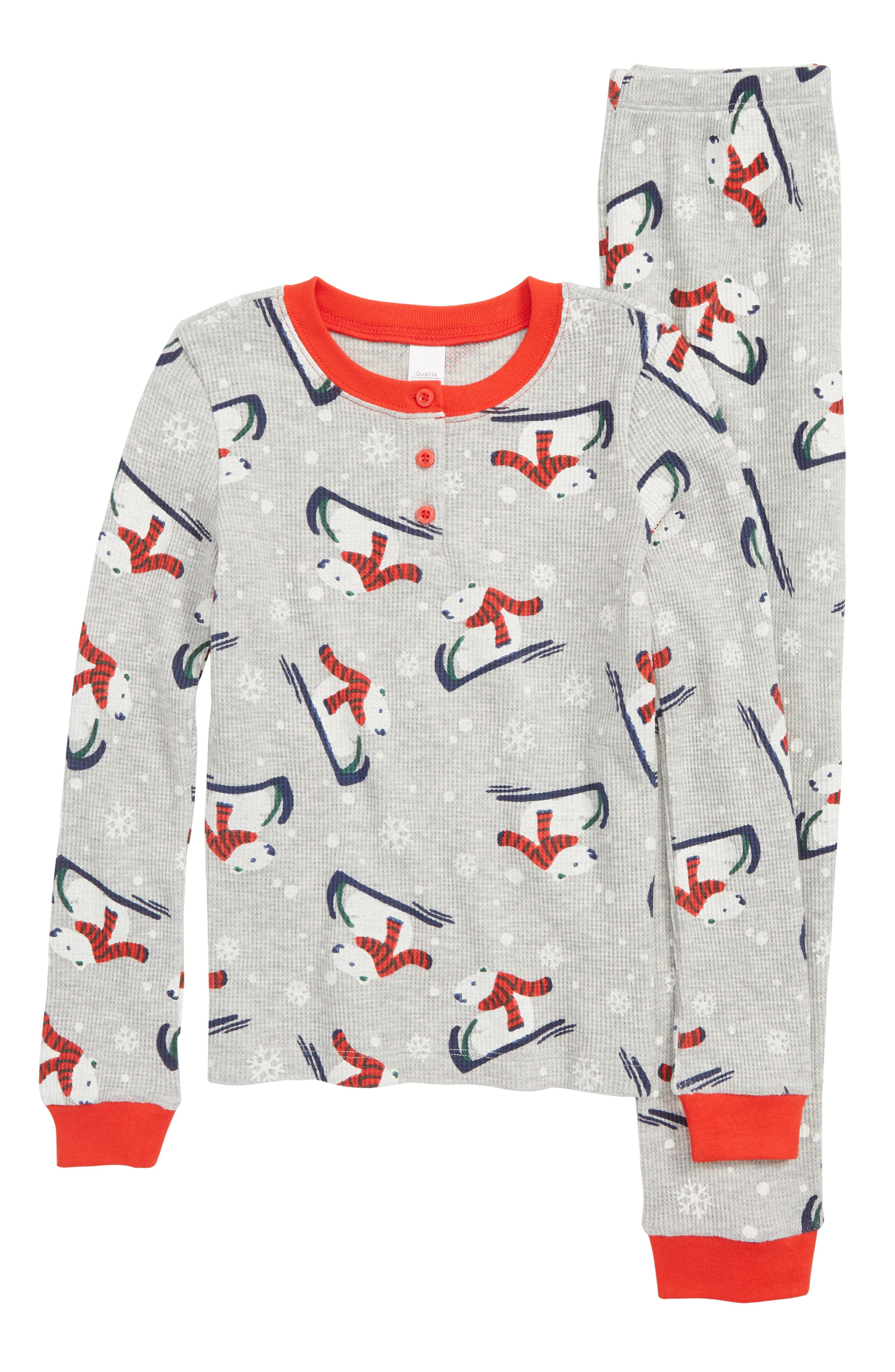 Boys Nordstrom Thermal Fitted TwoPiece Pajamas