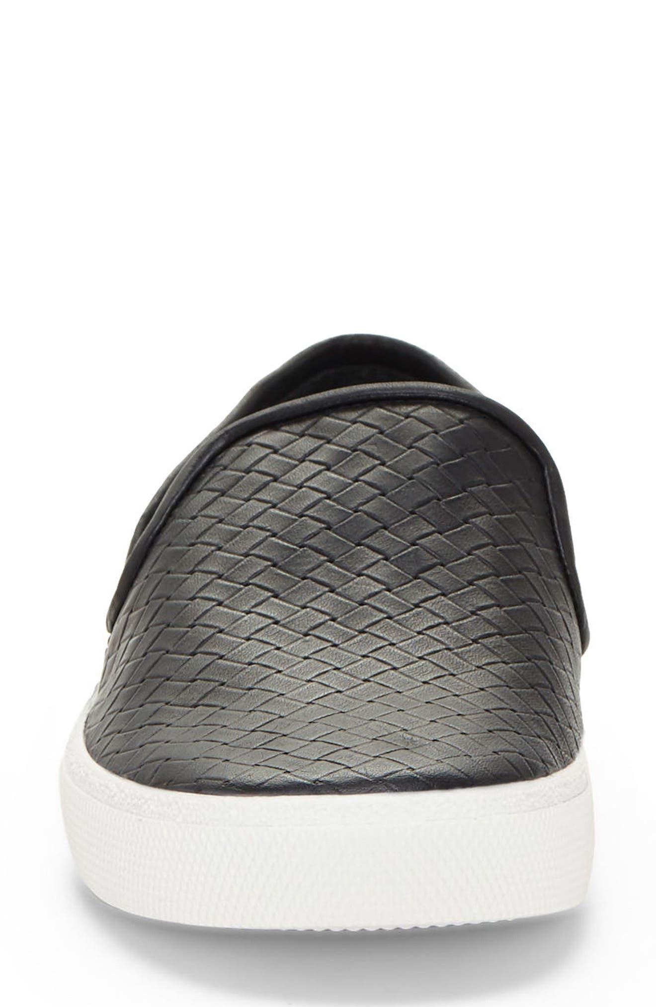 Cariana Slip-On Sneaker,                             Alternate thumbnail 4, color,                             001