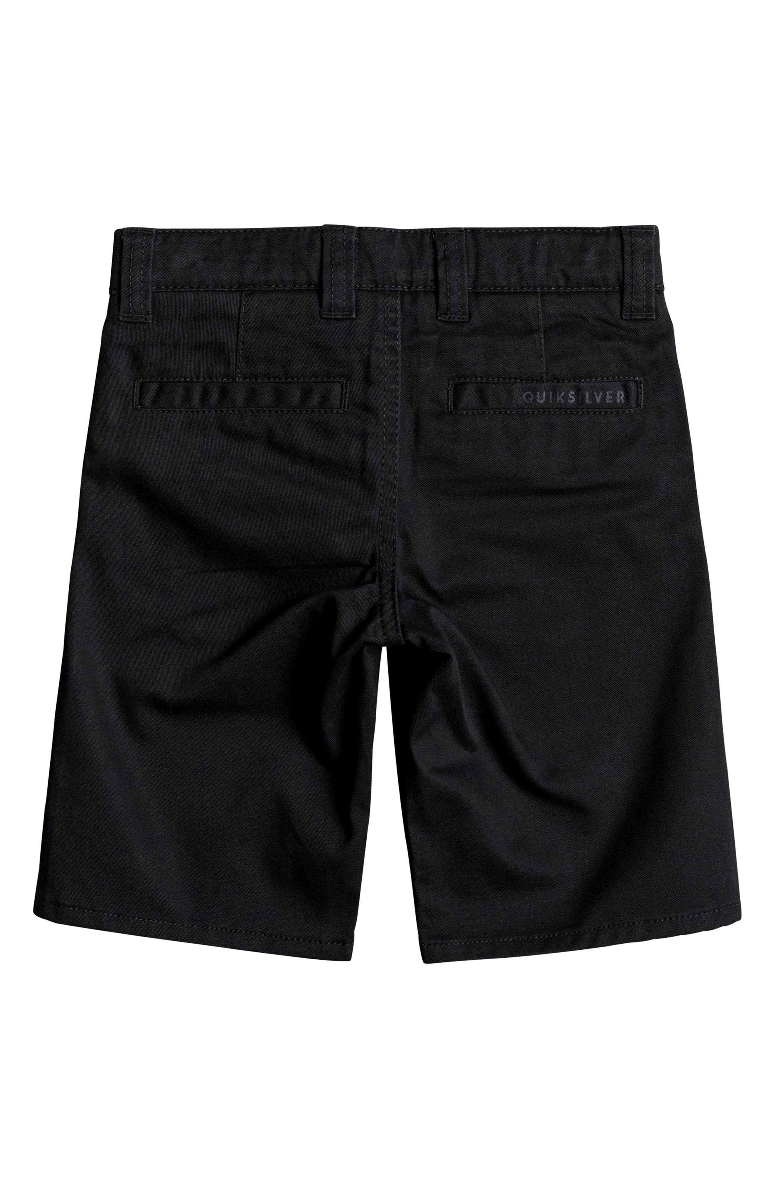 Everyday Union Stretch Shorts,                             Alternate thumbnail 2, color,                             BLACK