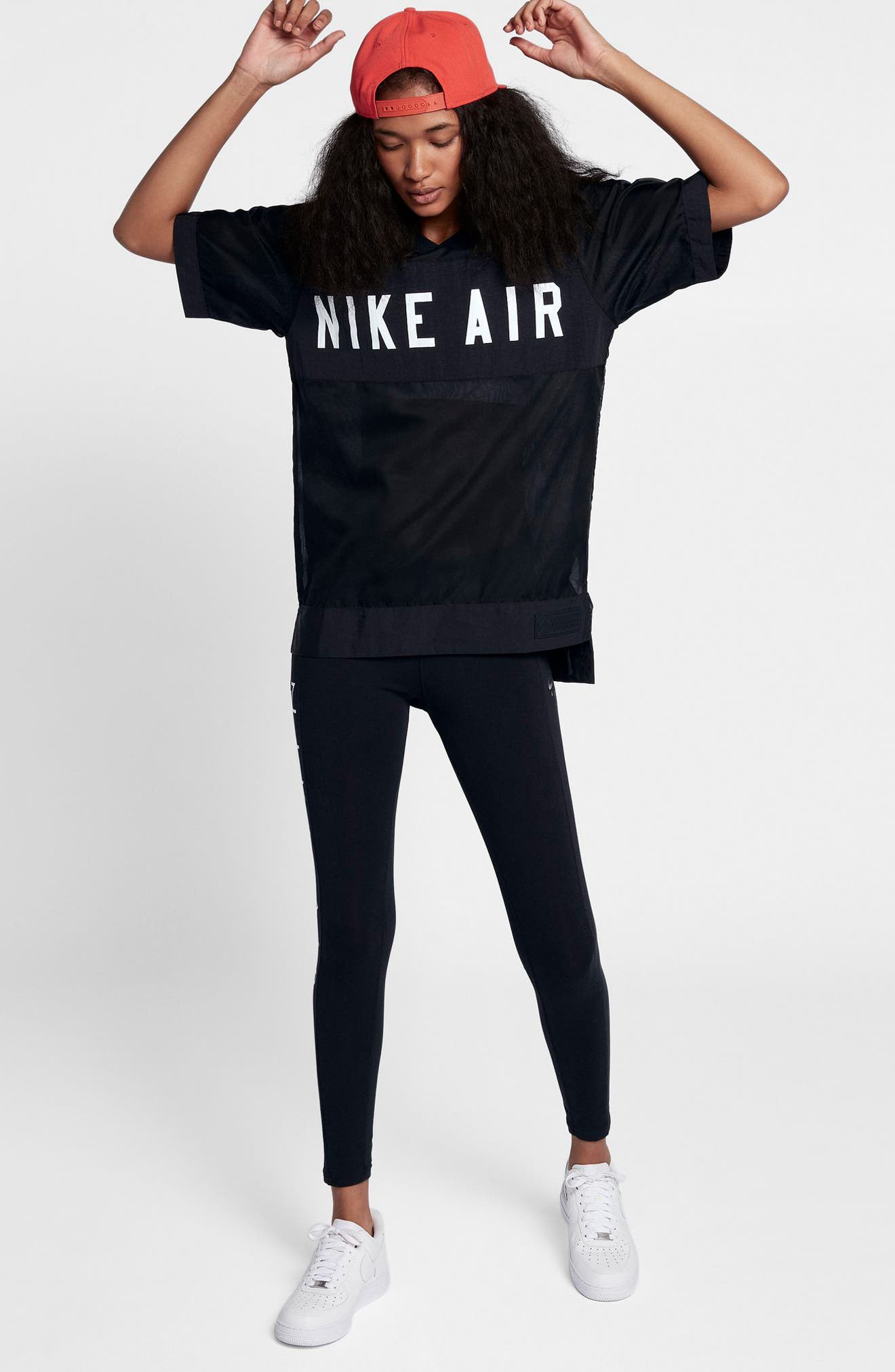 Air Tee,                             Alternate thumbnail 7, color,                             BLACK