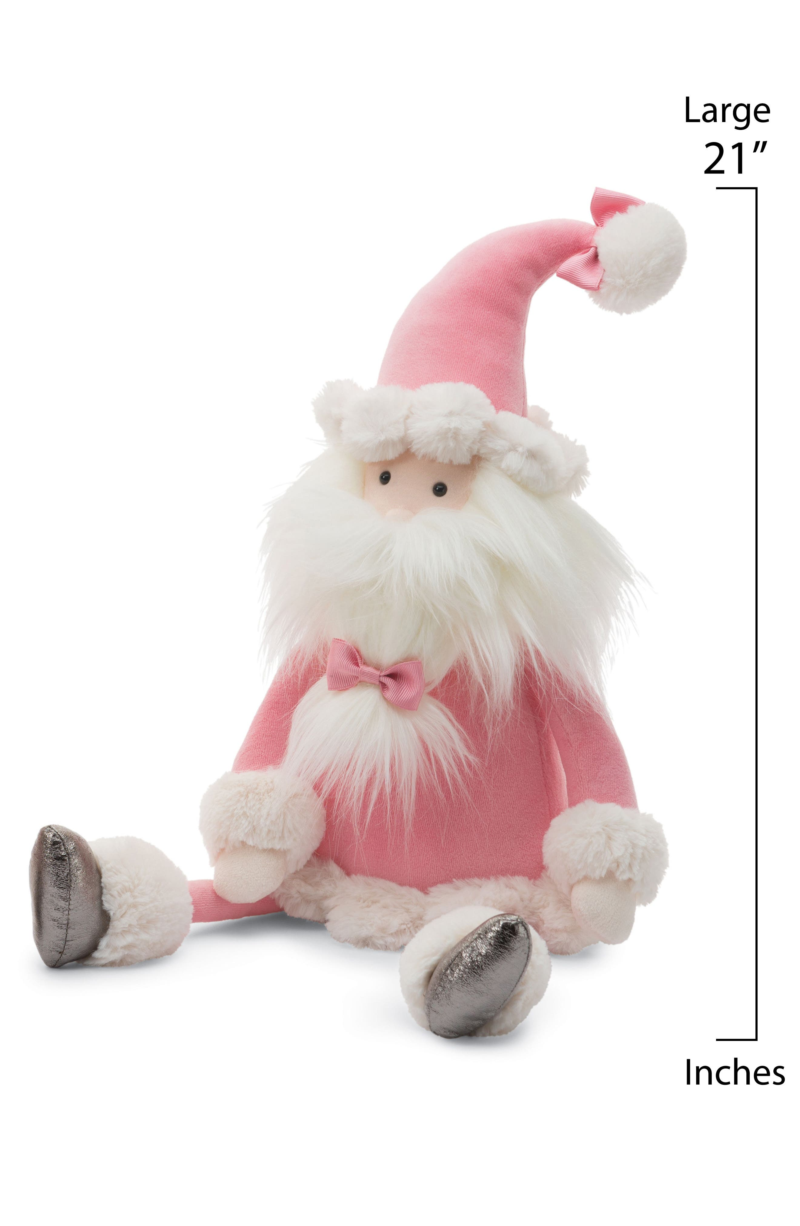 Medium Splendid Santa Stuffed Doll,                             Alternate thumbnail 2, color,                             680