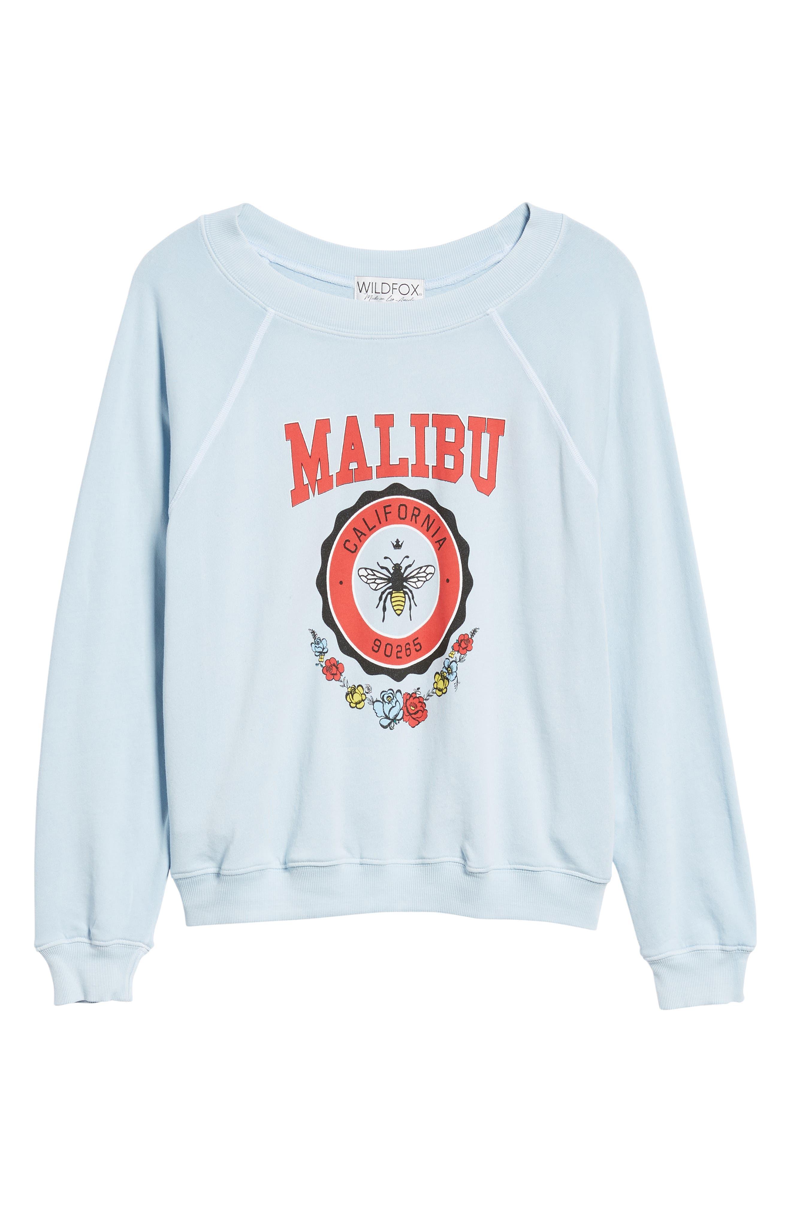 Malibu Crest Sommers Sweatshirt,                             Alternate thumbnail 6, color,                             400