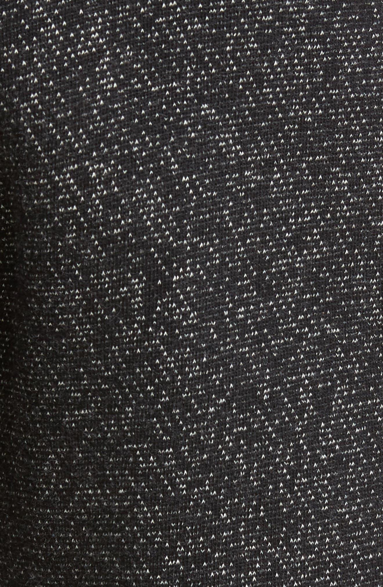Tiger Slim Jogger Sweatpants,                             Alternate thumbnail 5, color,                             BLACK